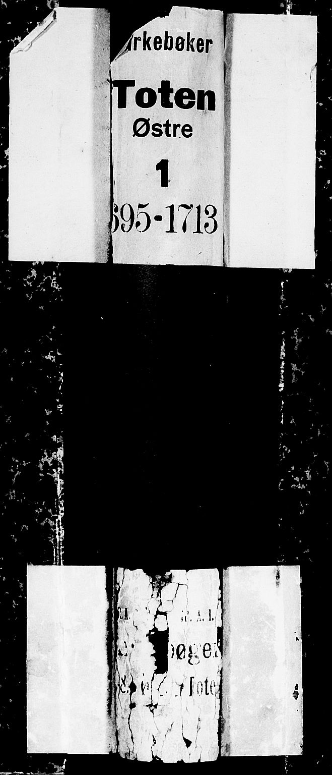 SAH, Toten prestekontor, Ministerialbok nr. 1, 1695-1713