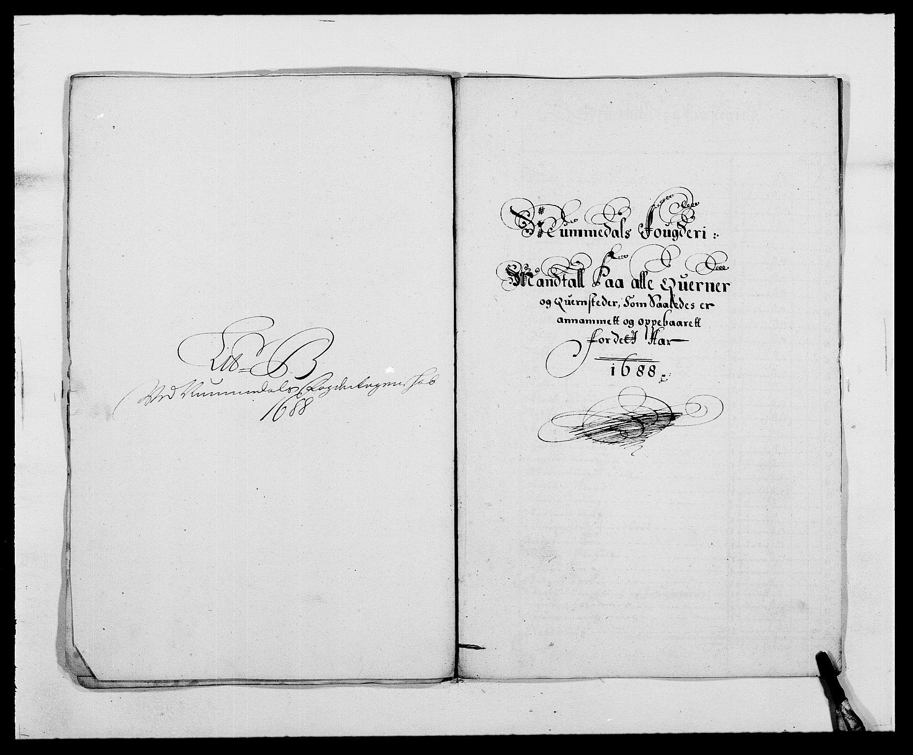 RA, Rentekammeret inntil 1814, Reviderte regnskaper, Fogderegnskap, R64/L4422: Fogderegnskap Namdal, 1687-1689, s. 102