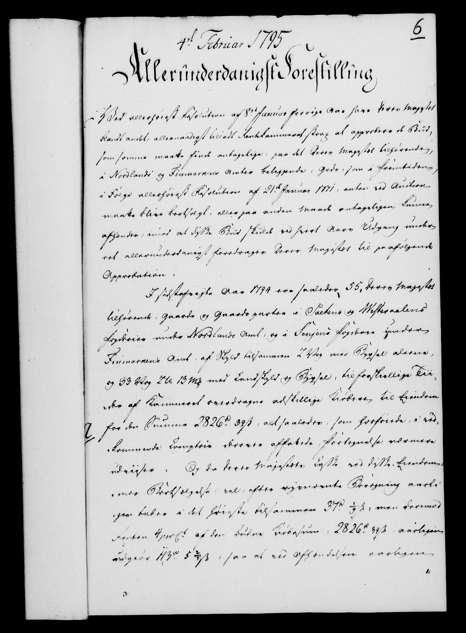 RA, Rentekammeret, Kammerkanselliet, G/Gf/Gfa/L0077: Norsk relasjons- og resolusjonsprotokoll (merket RK 52.77), 1795, s. 59