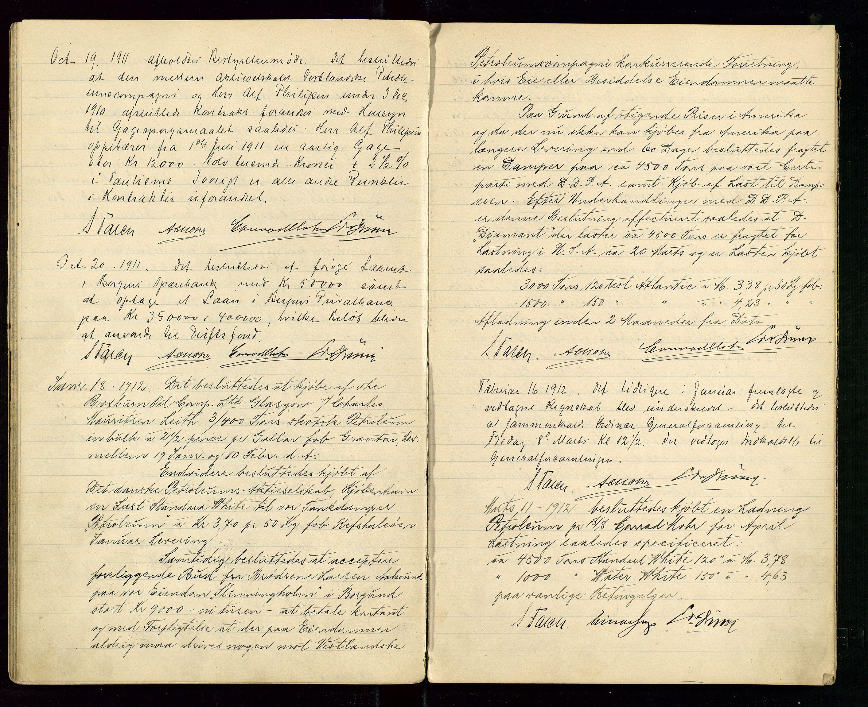 SAST, PA 1533 - A/S Vestlandske Petroleumscompani, A/Aa/L0001: Generalforsamlinger og styreprotokoller, 1907-1915, s. 44