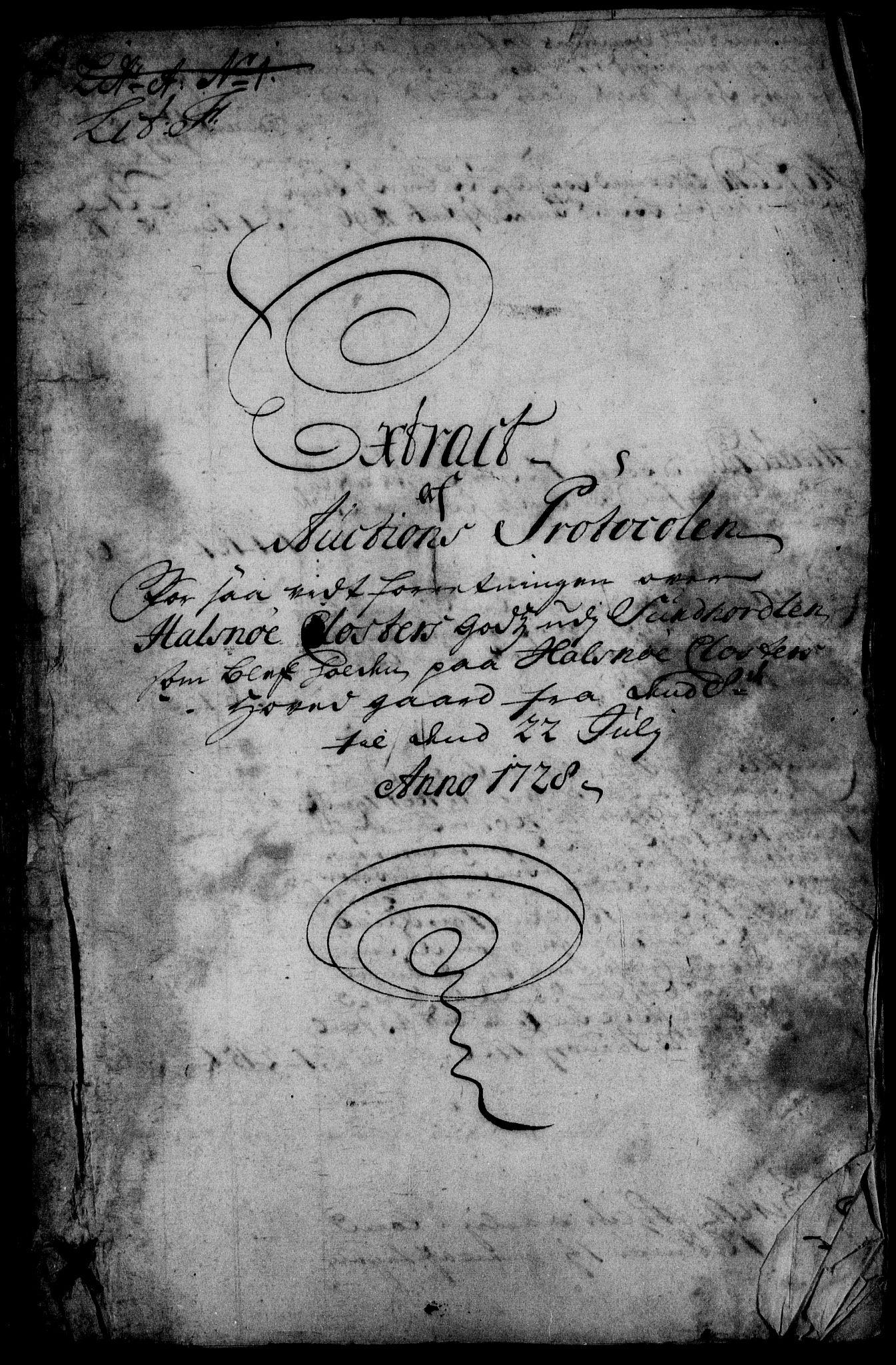RA, Rentekammeret inntil 1814, Realistisk ordnet avdeling, On/L0003: [Jj 4]: Kommisjonsforretning over Vilhelm Hanssøns forpaktning av Halsnøy klosters gods, 1721-1729, s. 327