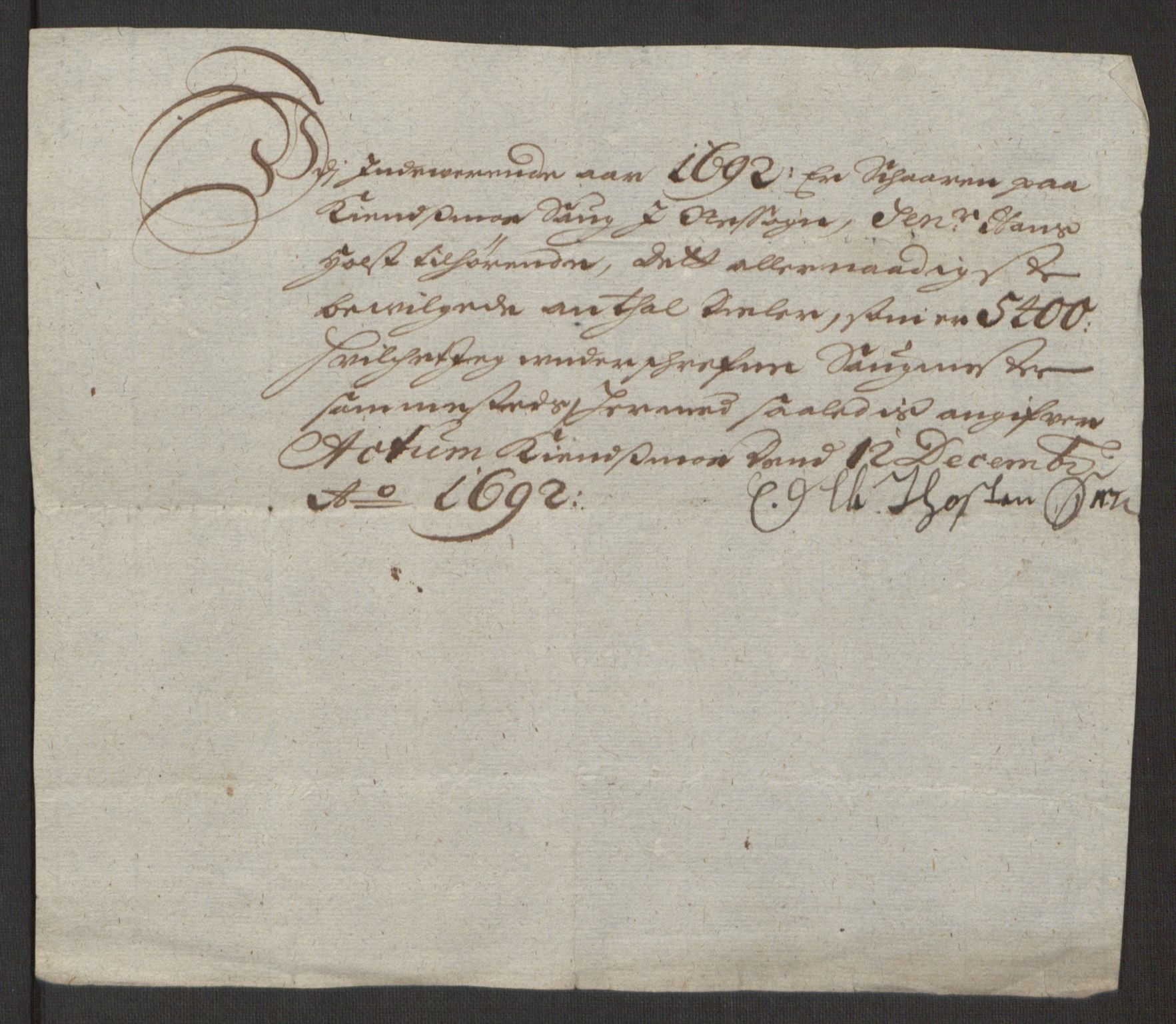 RA, Rentekammeret inntil 1814, Reviderte regnskaper, Fogderegnskap, R12/L0704: Fogderegnskap Øvre Romerike, 1692, s. 229