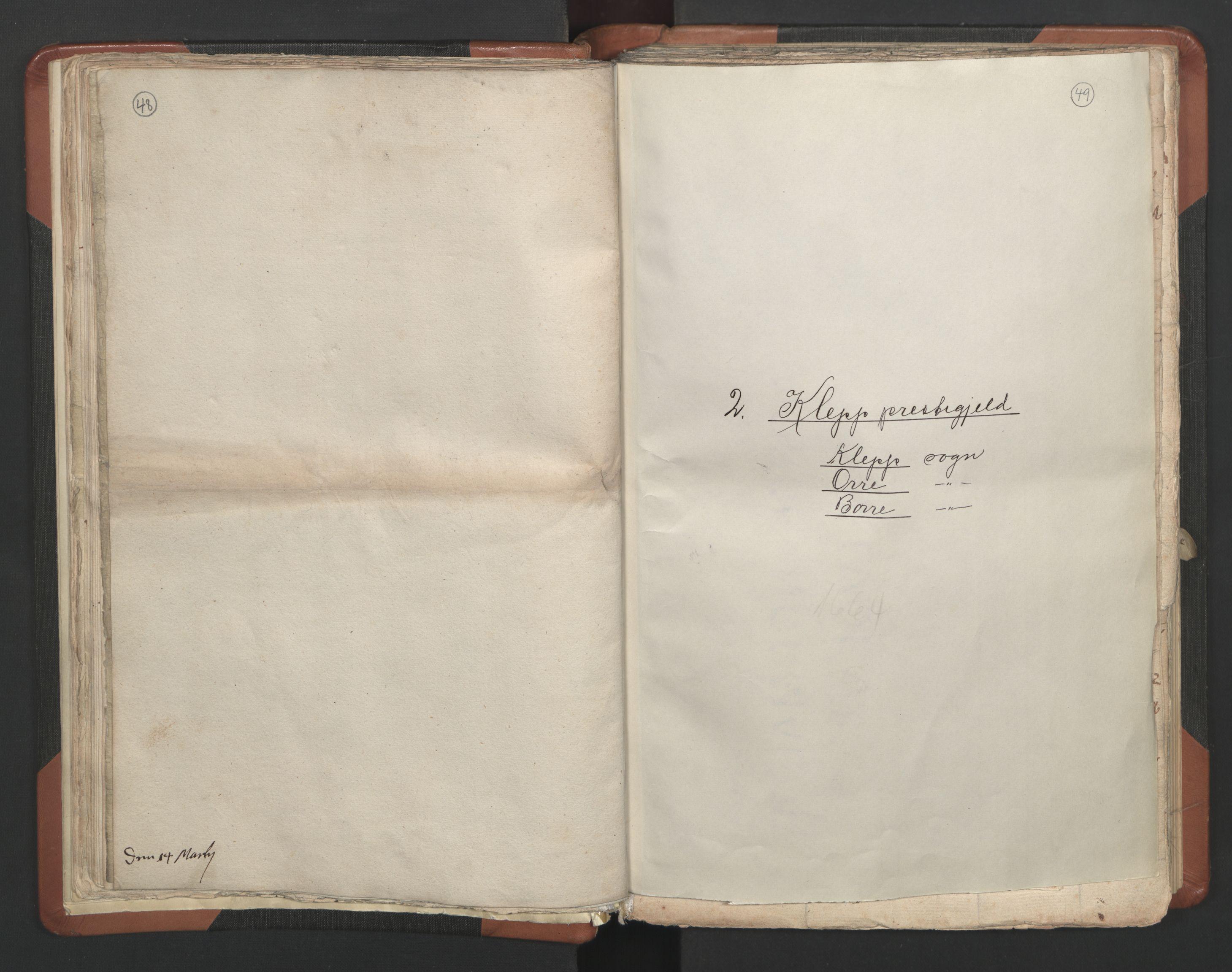 RA, Sogneprestenes manntall 1664-1666, nr. 17: Jæren prosti og Dalane prosti, 1664-1666, s. 48-49