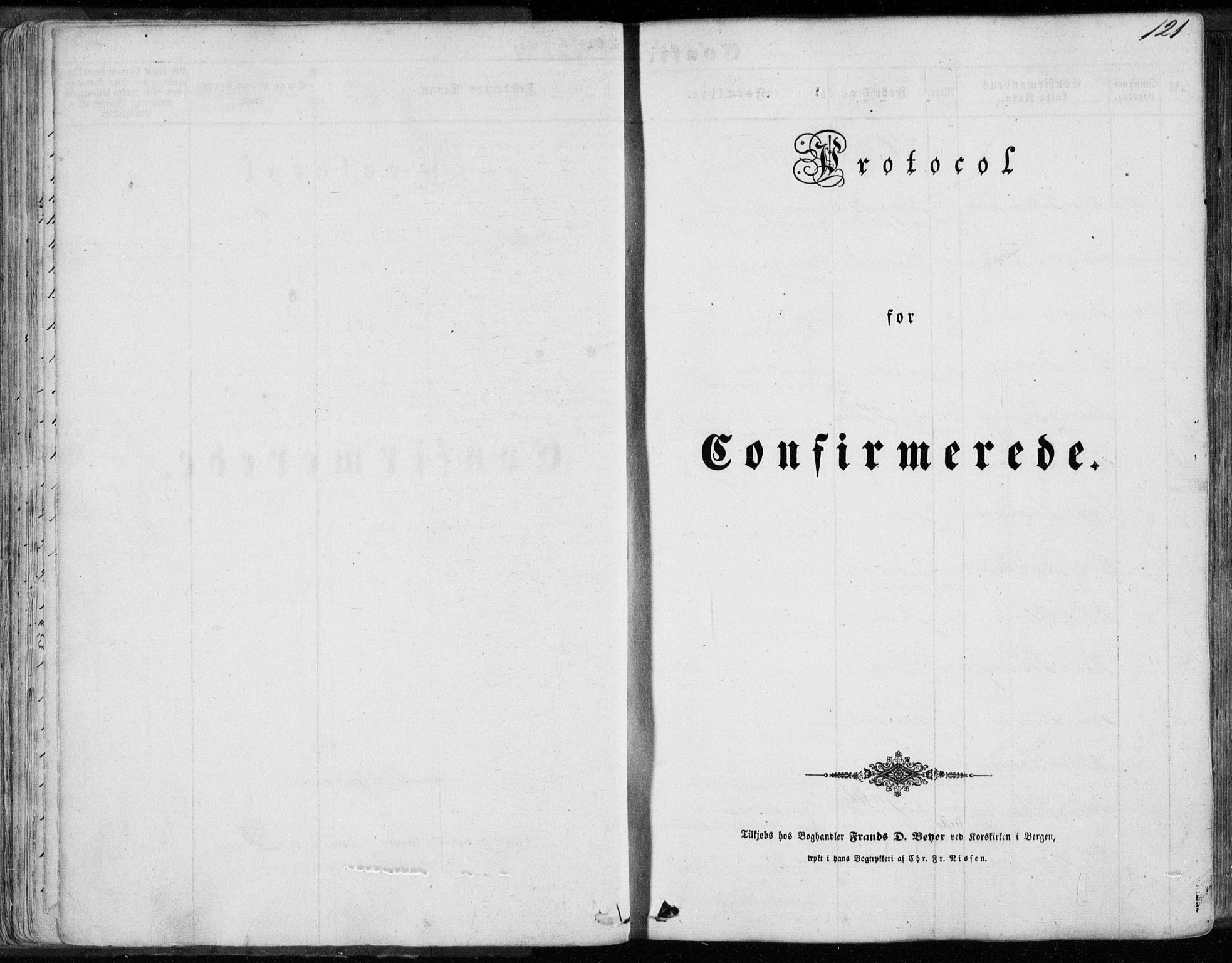 SAB, Sund sokneprestembete, Ministerialbok nr. A 14, 1850-1866, s. 121