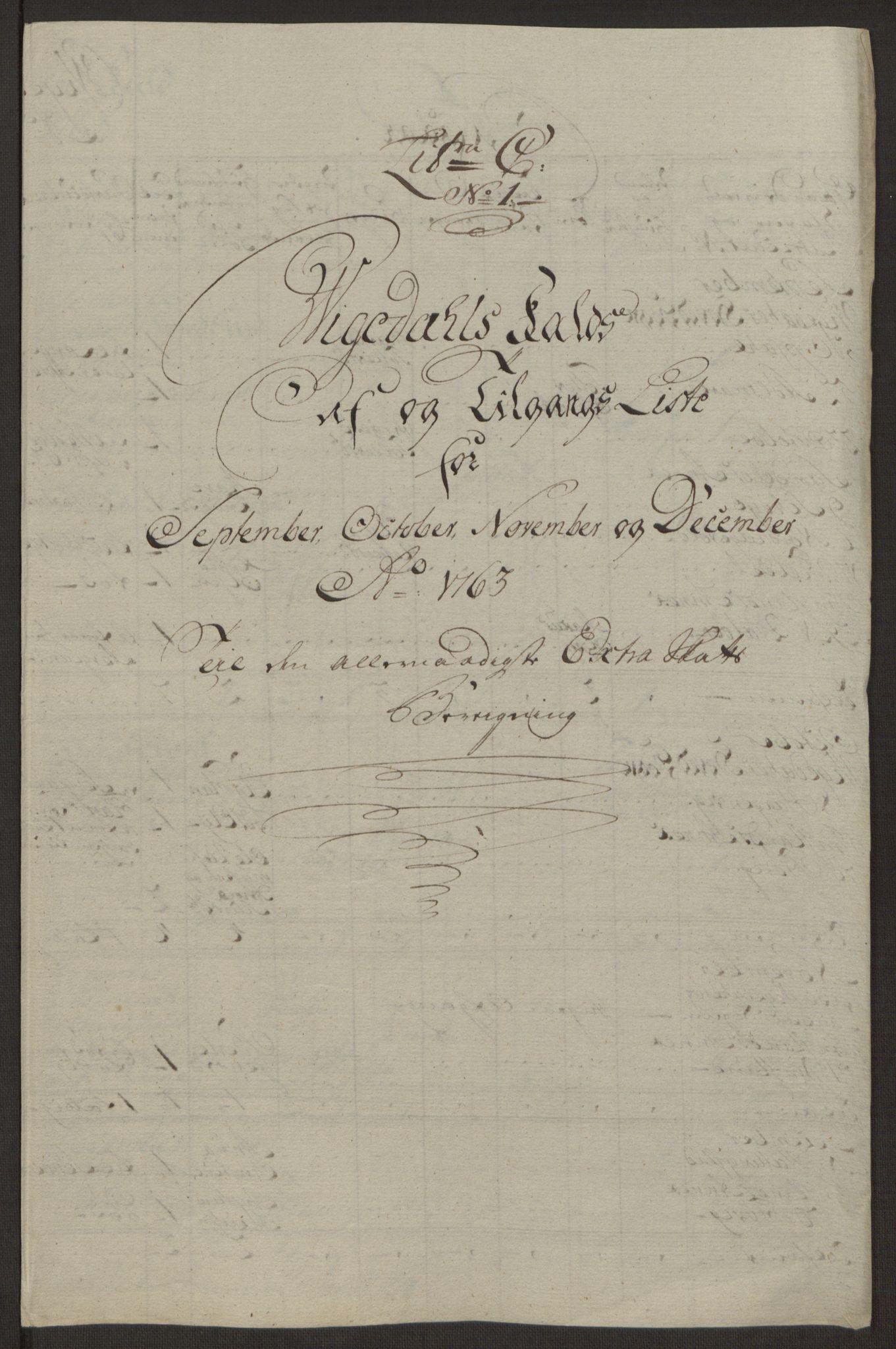 RA, Rentekammeret inntil 1814, Realistisk ordnet avdeling, Ol/L0016a: [Gg 10]: Ekstraskatten, 23.09.1762. Ryfylke, 1762-1768, s. 146
