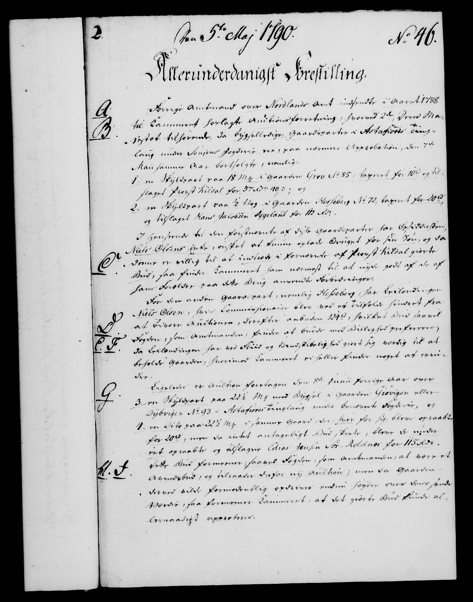 RA, Rentekammeret, Kammerkanselliet, G/Gf/Gfa/L0072: Norsk relasjons- og resolusjonsprotokoll (merket RK 52.72), 1790, s. 221