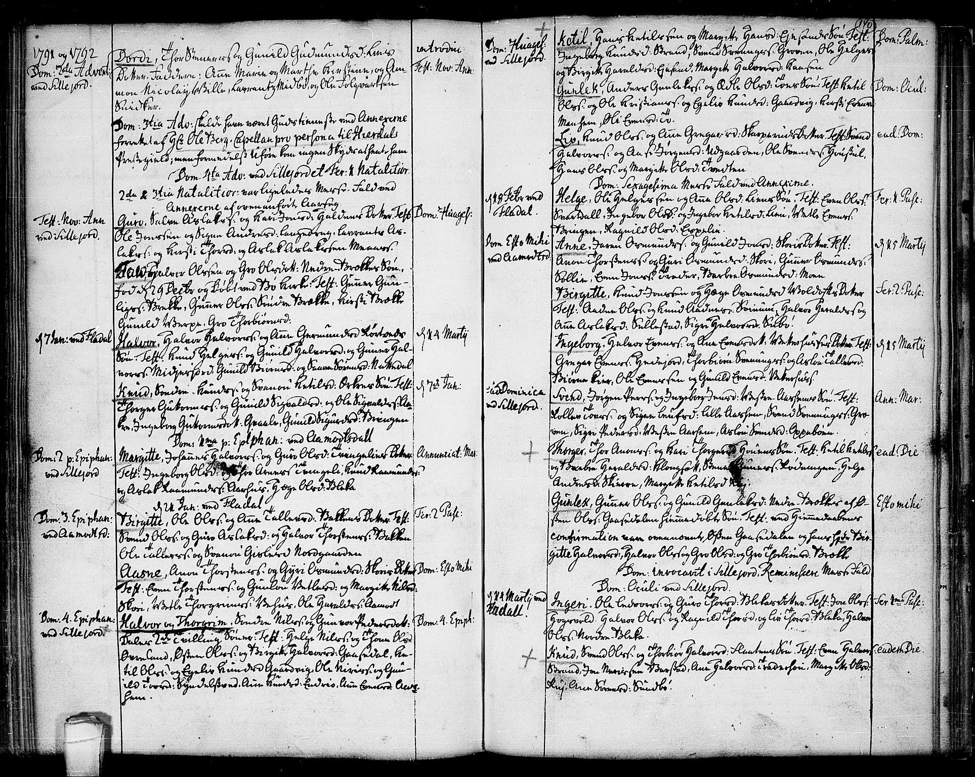 SAKO, Seljord kirkebøker, F/Fa/L0007: Ministerialbok nr. I 7, 1755-1800, s. 140