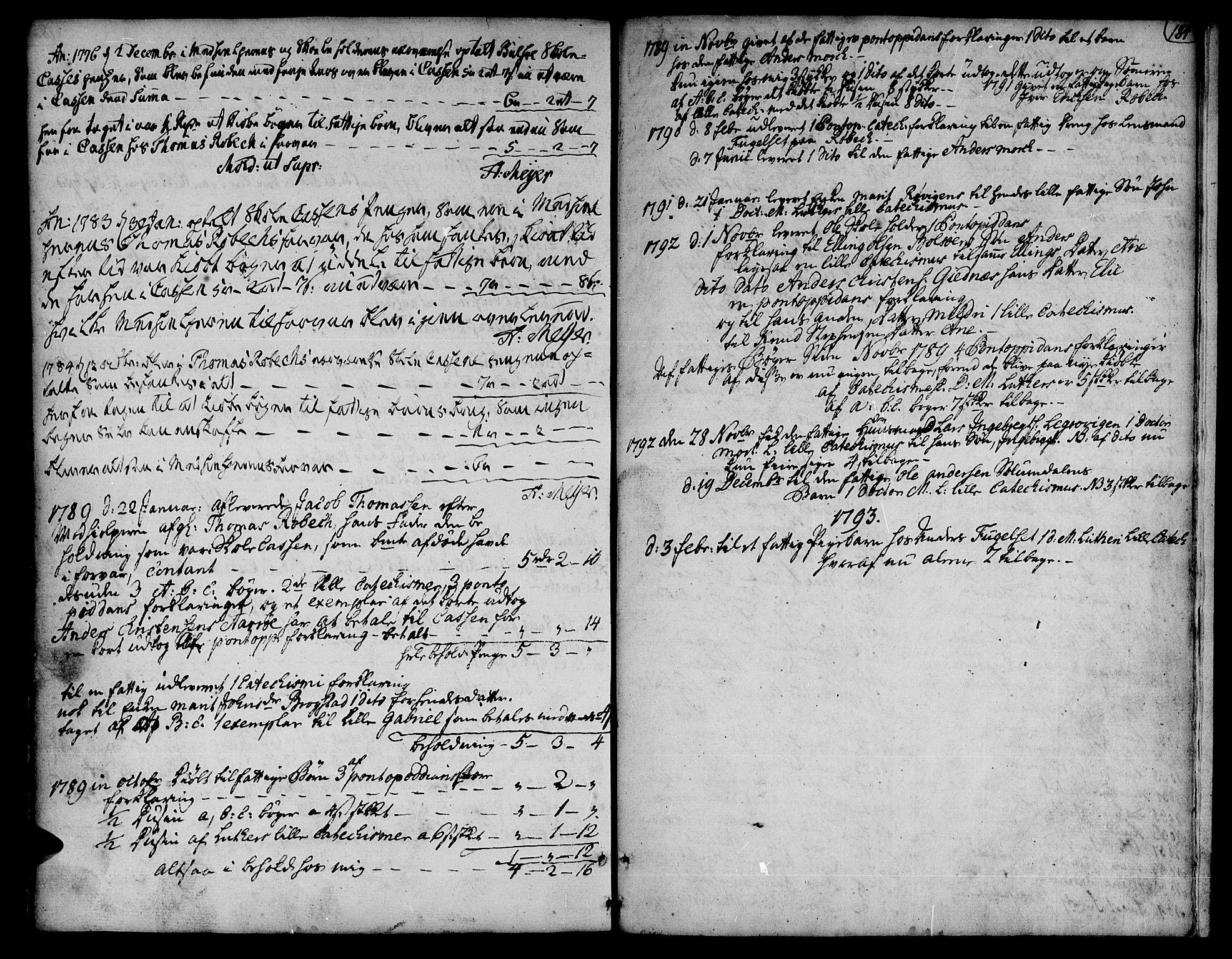SAT, Ministerialprotokoller, klokkerbøker og fødselsregistre - Møre og Romsdal, 555/L0648: Ministerialbok nr. 555A01, 1759-1793, s. 184