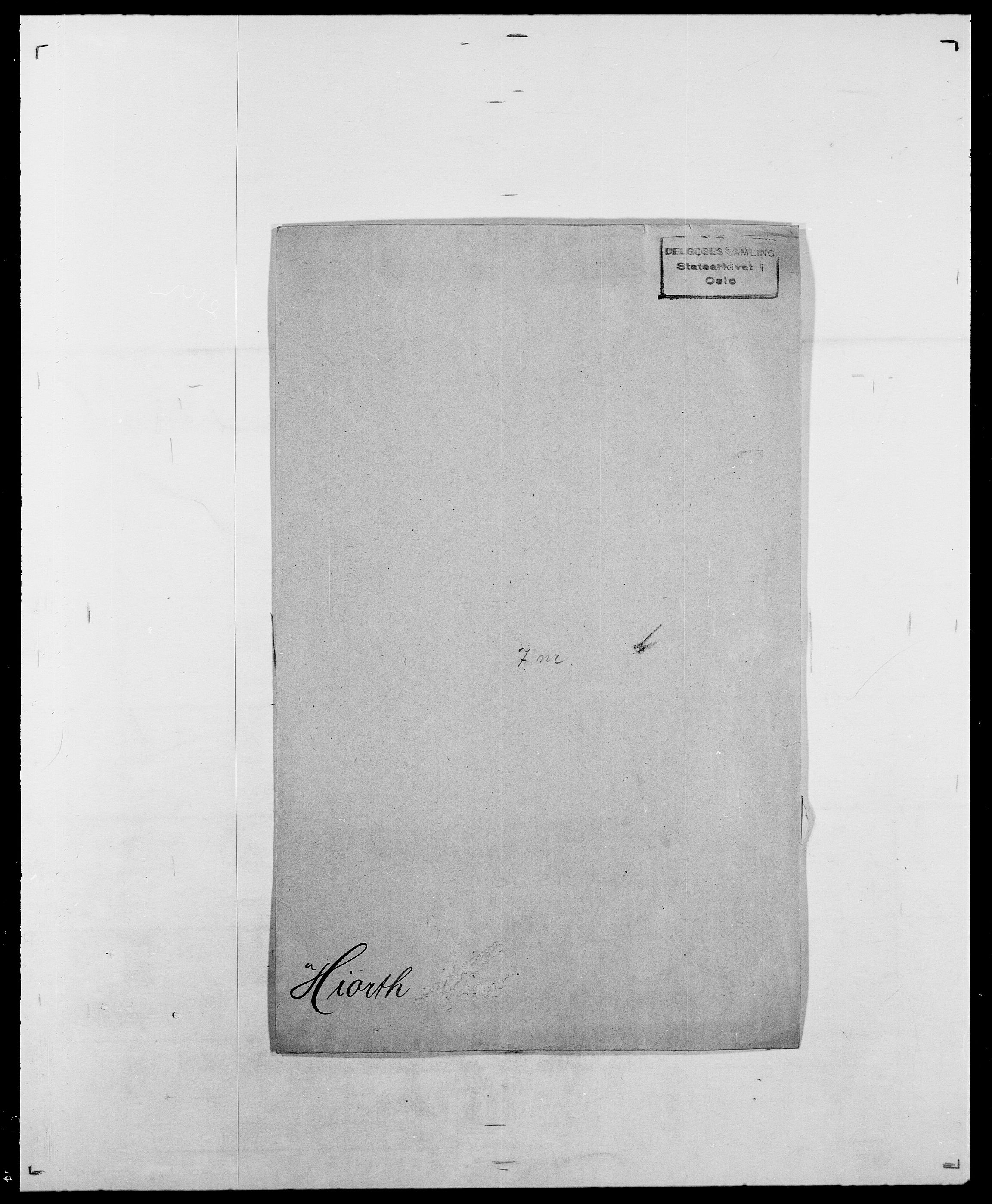SAO, Delgobe, Charles Antoine - samling, D/Da/L0017: Helander - Hjørne, s. 500