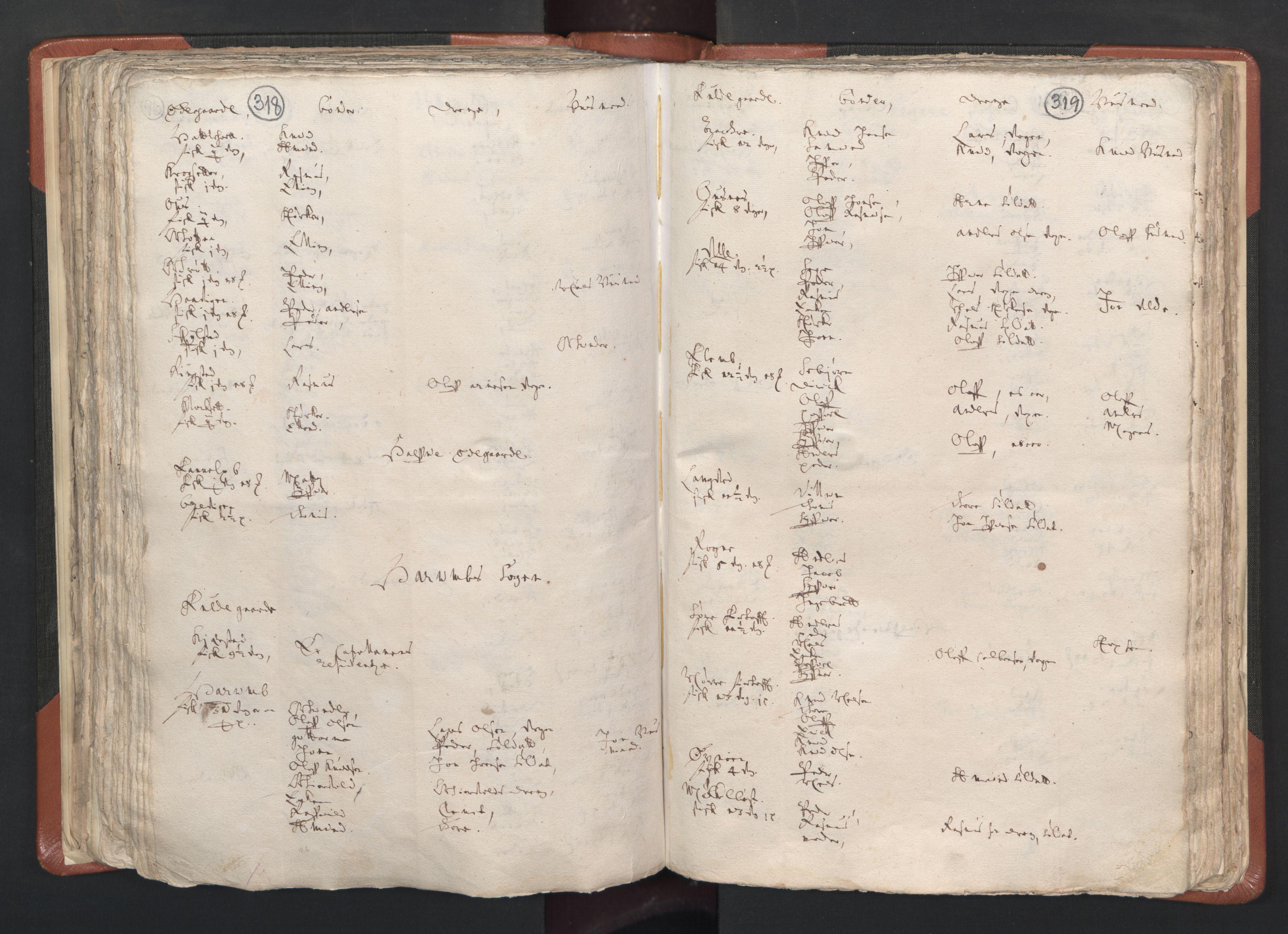 RA, Sogneprestenes manntall 1664-1666, nr. 26: Sunnmøre prosti, 1664-1666, s. 318-319