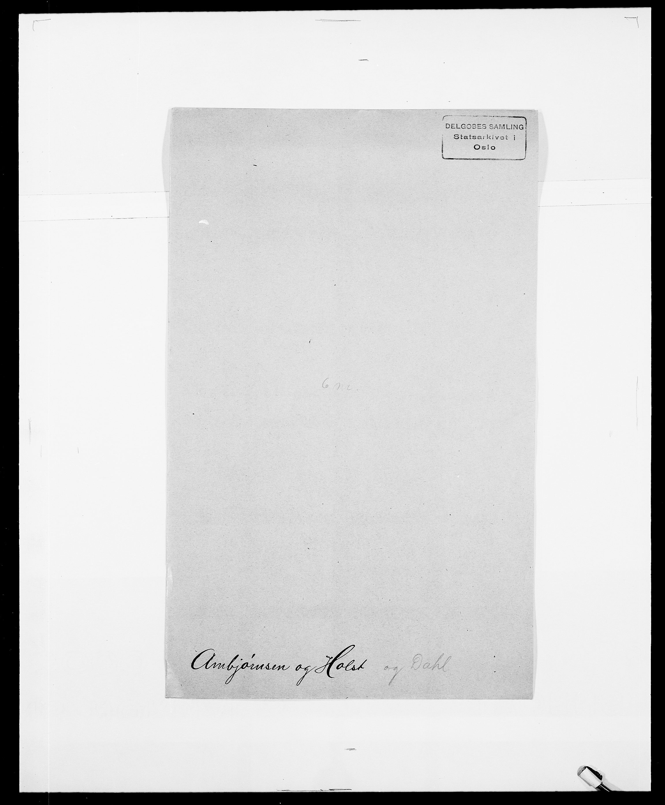 SAO, Delgobe, Charles Antoine - samling, D/Da/L0001: Aabye - Angerman, s. 510