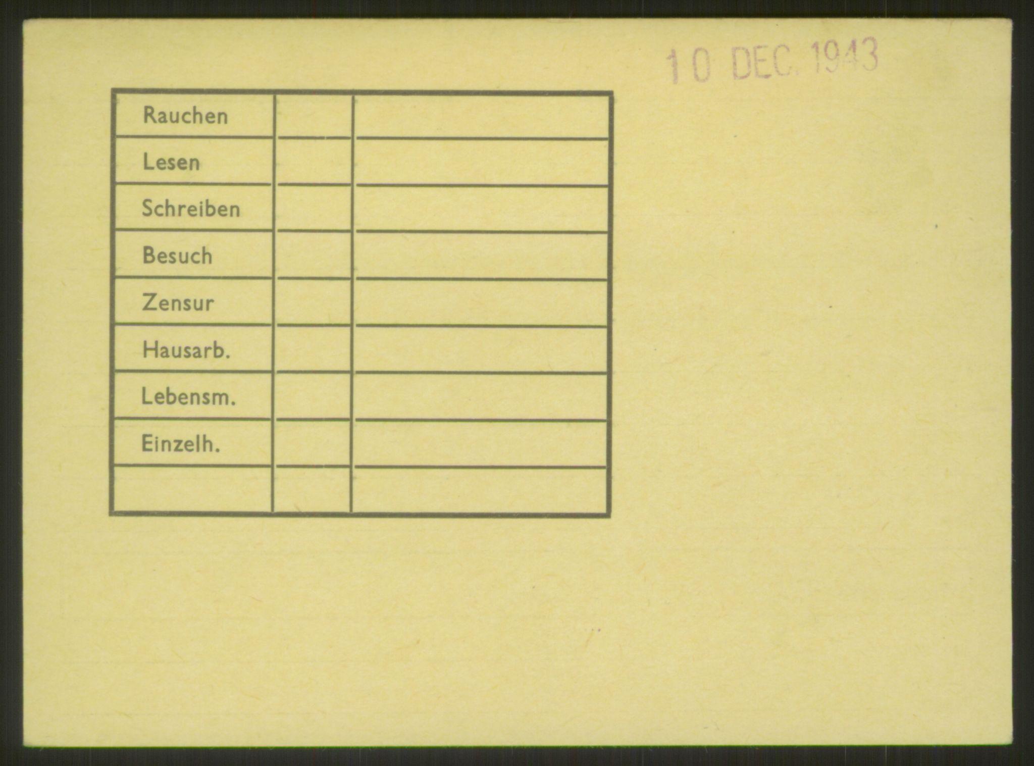 RA, Befehlshaber der Sicherheitspolizei und des SD, E/Ea/Eab/L0006: Register over norske fanger i Møllergata 19 ordnet etter fangenummer: 5500-6299, 1940-1945