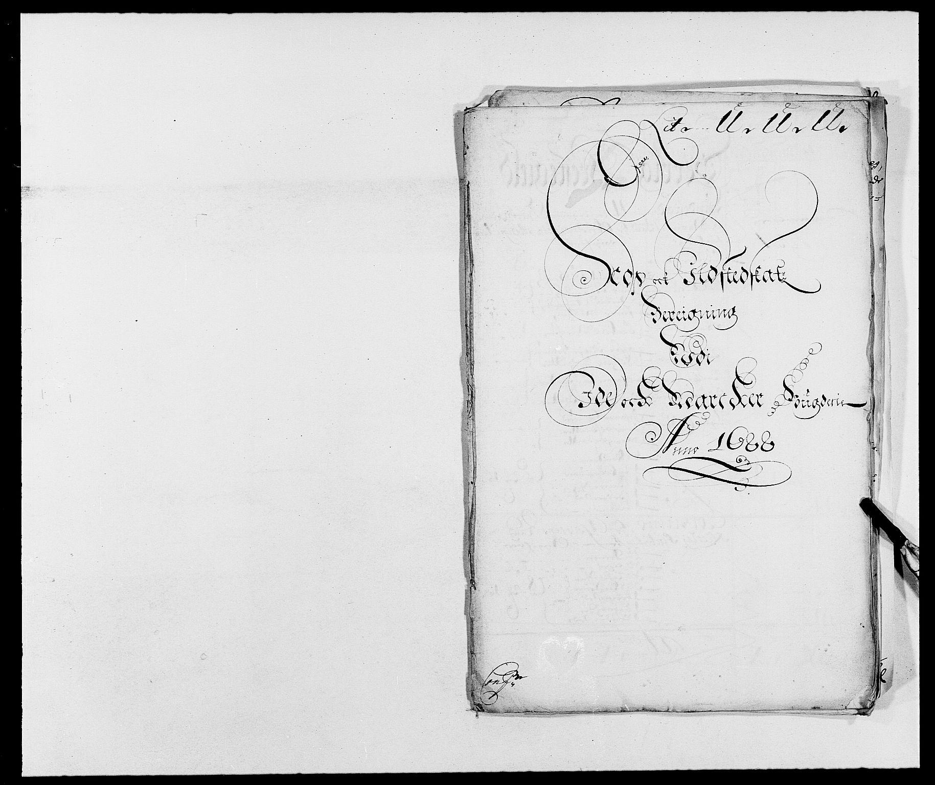 RA, Rentekammeret inntil 1814, Reviderte regnskaper, Fogderegnskap, R01/L0007: Fogderegnskap Idd og Marker, 1687-1688, s. 328