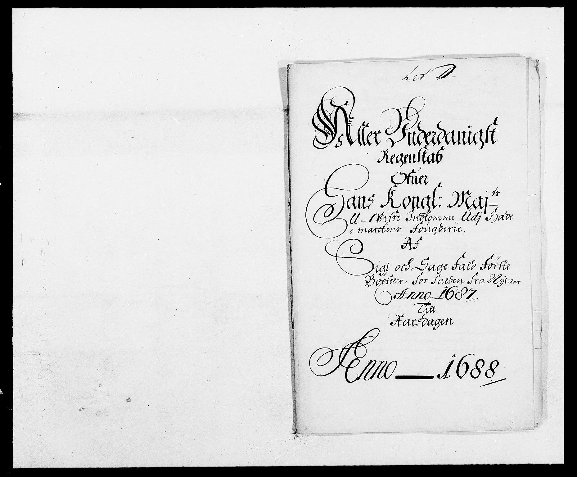 RA, Rentekammeret inntil 1814, Reviderte regnskaper, Fogderegnskap, R16/L1028: Fogderegnskap Hedmark, 1687, s. 68
