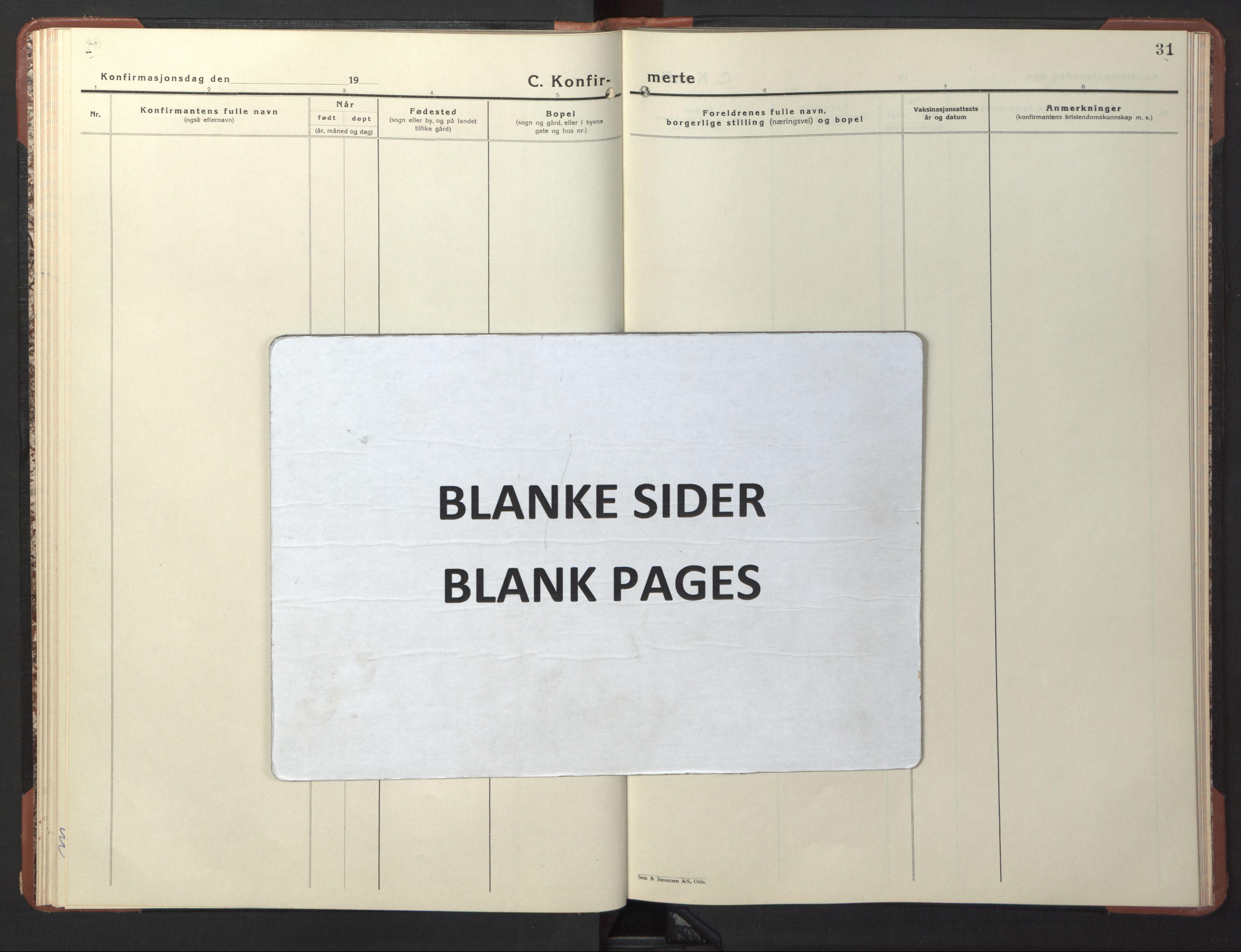 SAT, Ministerialprotokoller, klokkerbøker og fødselsregistre - Sør-Trøndelag, 617/L0433: Klokkerbok nr. 617C04, 1942-1947, s. 31