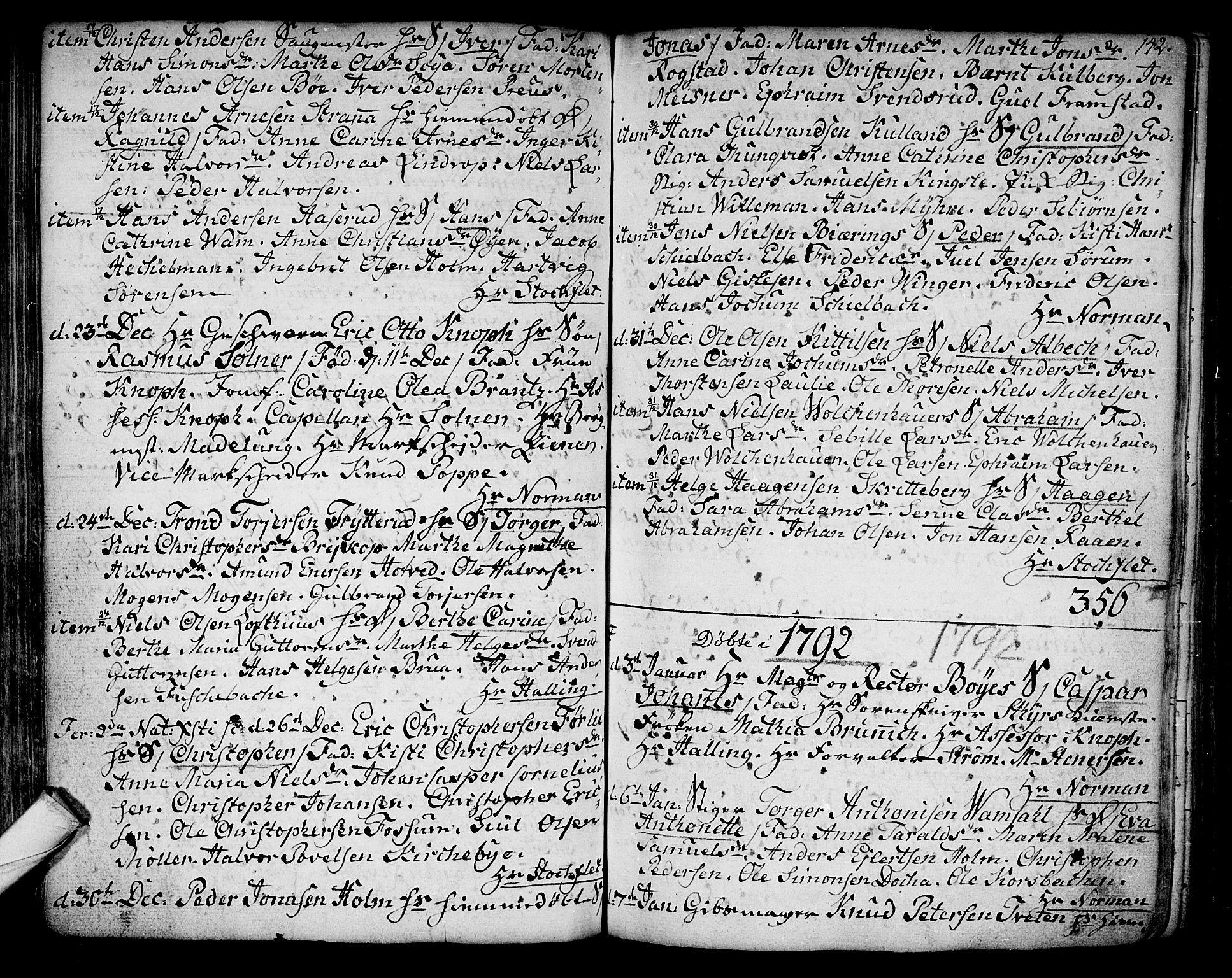 SAKO, Kongsberg kirkebøker, F/Fa/L0006: Ministerialbok nr. I 6, 1783-1797, s. 142