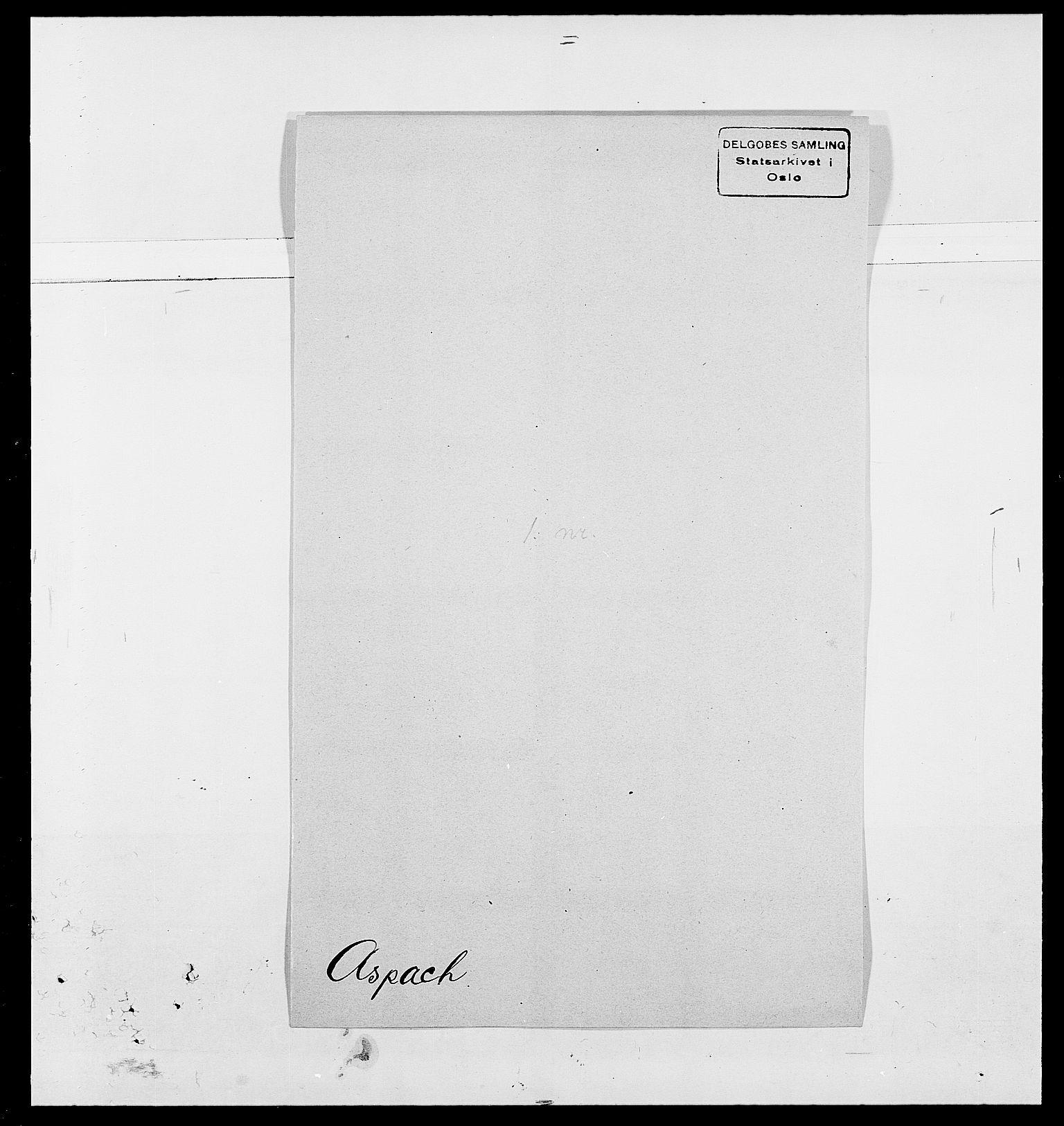 SAO, Delgobe, Charles Antoine - samling, D/Da/L0002: Anker, Ancher - Bauner, s. 446