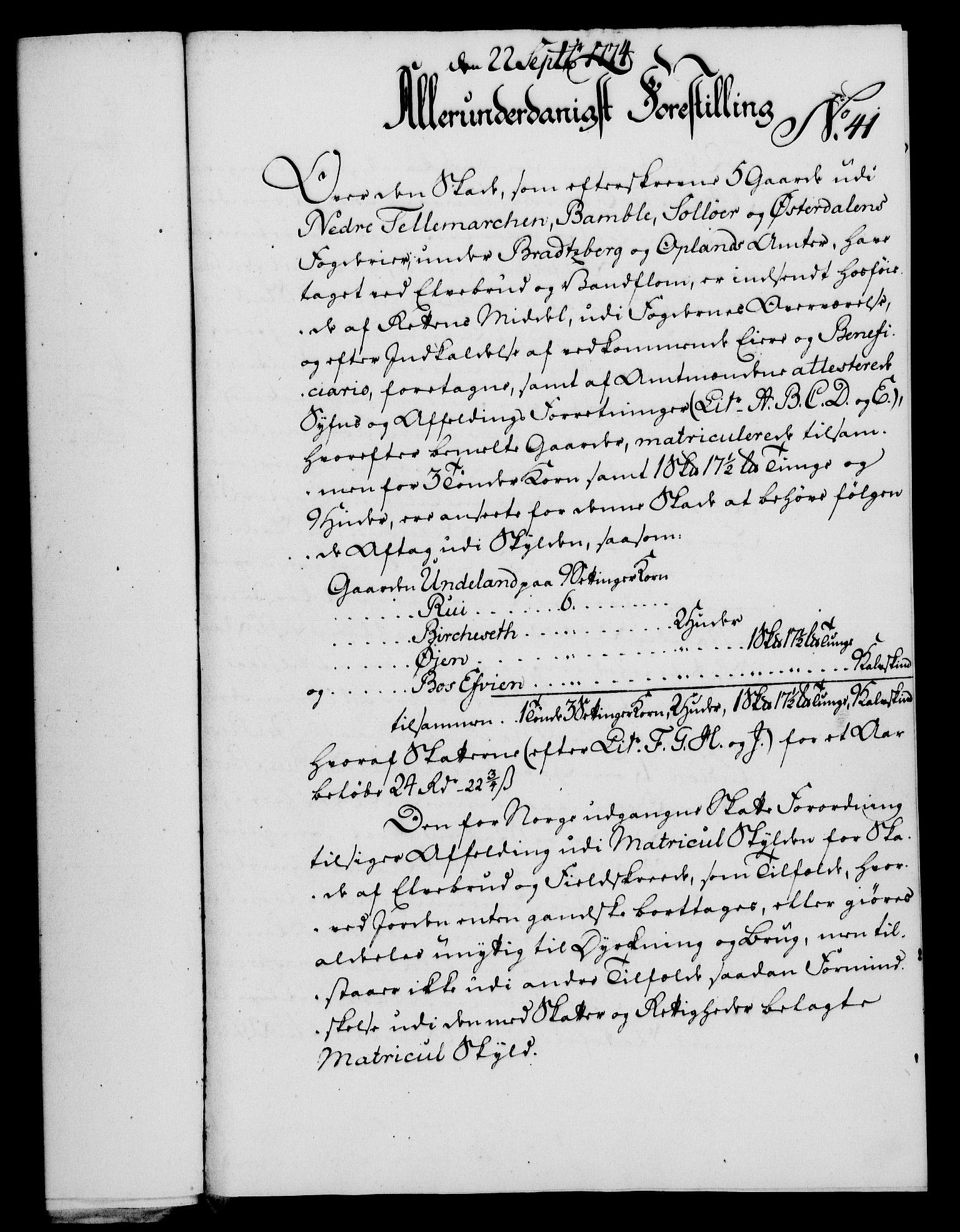 RA, Rentekammeret, Kammerkanselliet, G/Gf/Gfa/L0056: Norsk relasjons- og resolusjonsprotokoll (merket RK 52.56), 1774, s. 172