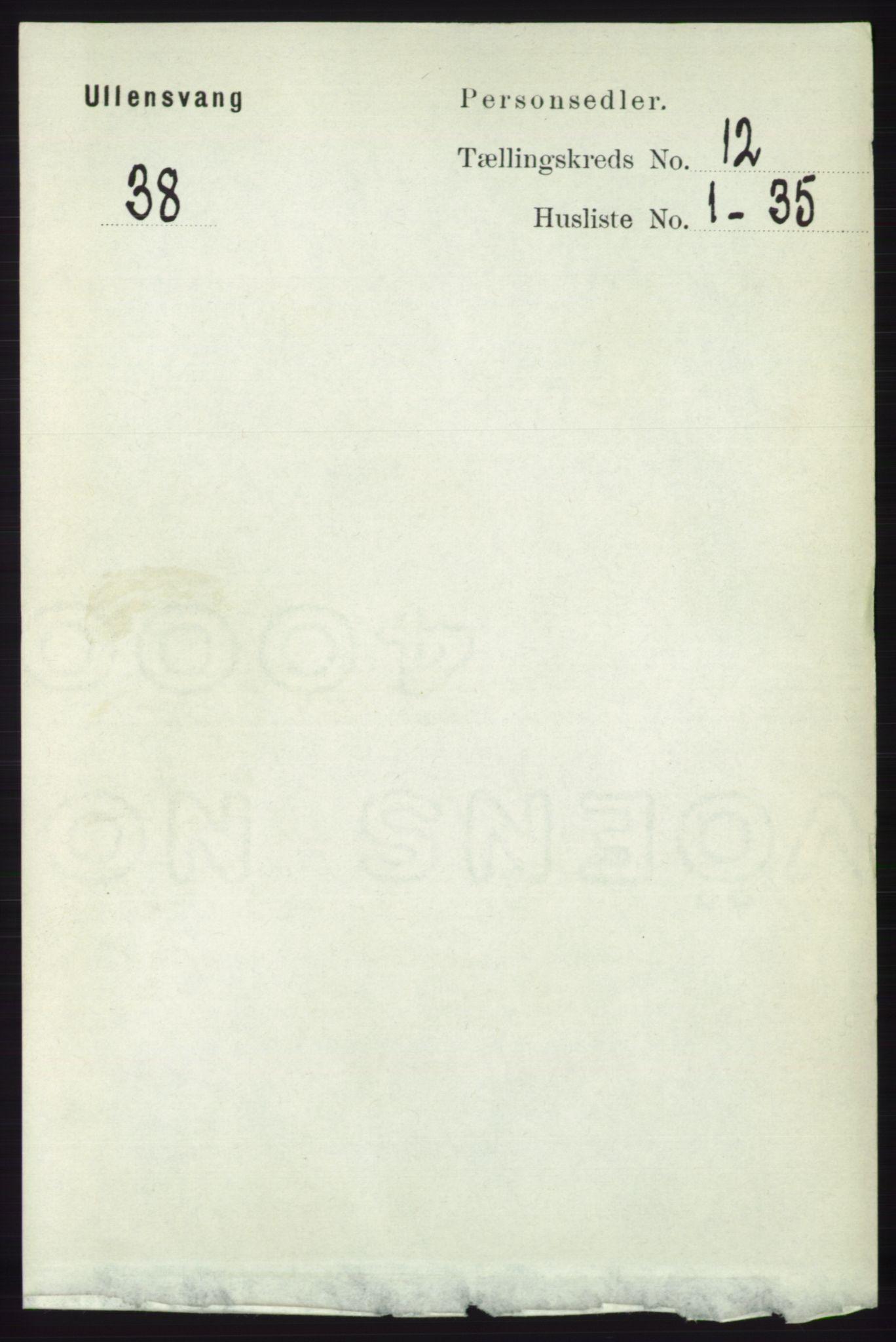 RA, Folketelling 1891 for 1230 Ullensvang herred, 1891, s. 4666