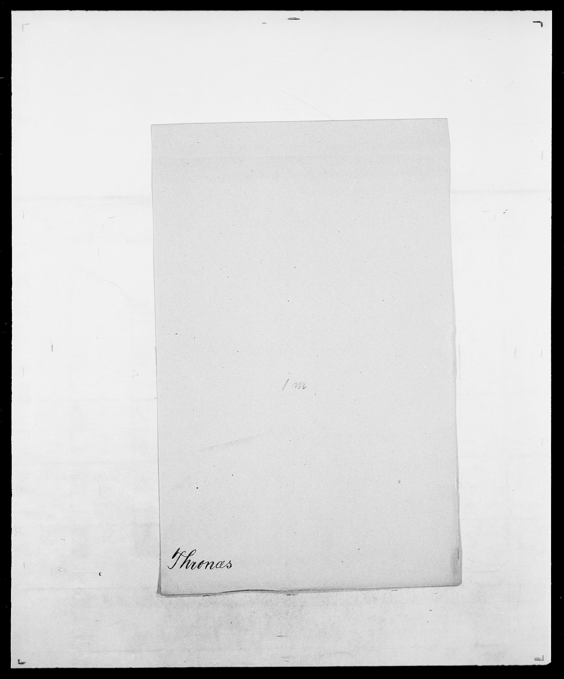 SAO, Delgobe, Charles Antoine - samling, D/Da/L0038: Svanenskjold - Thornsohn, s. 978