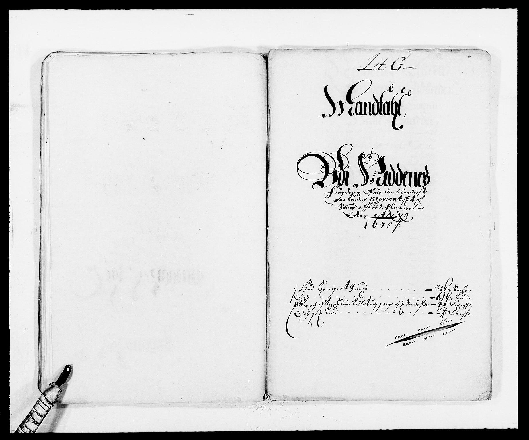 RA, Rentekammeret inntil 1814, Reviderte regnskaper, Fogderegnskap, R39/L2301: Fogderegnskap Nedenes, 1675-1676, s. 137