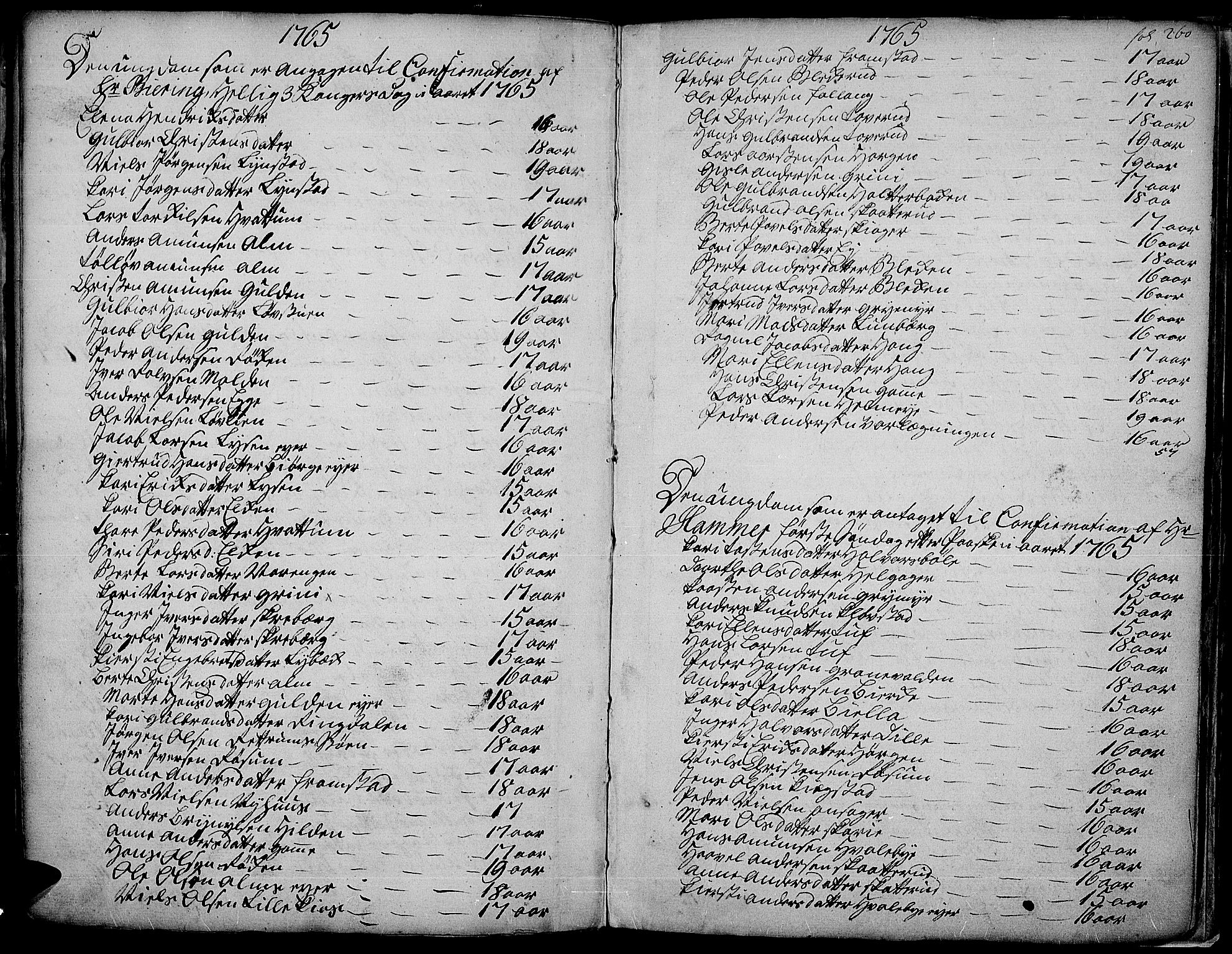SAH, Gran prestekontor, Ministerialbok nr. 4, 1759-1775, s. 260