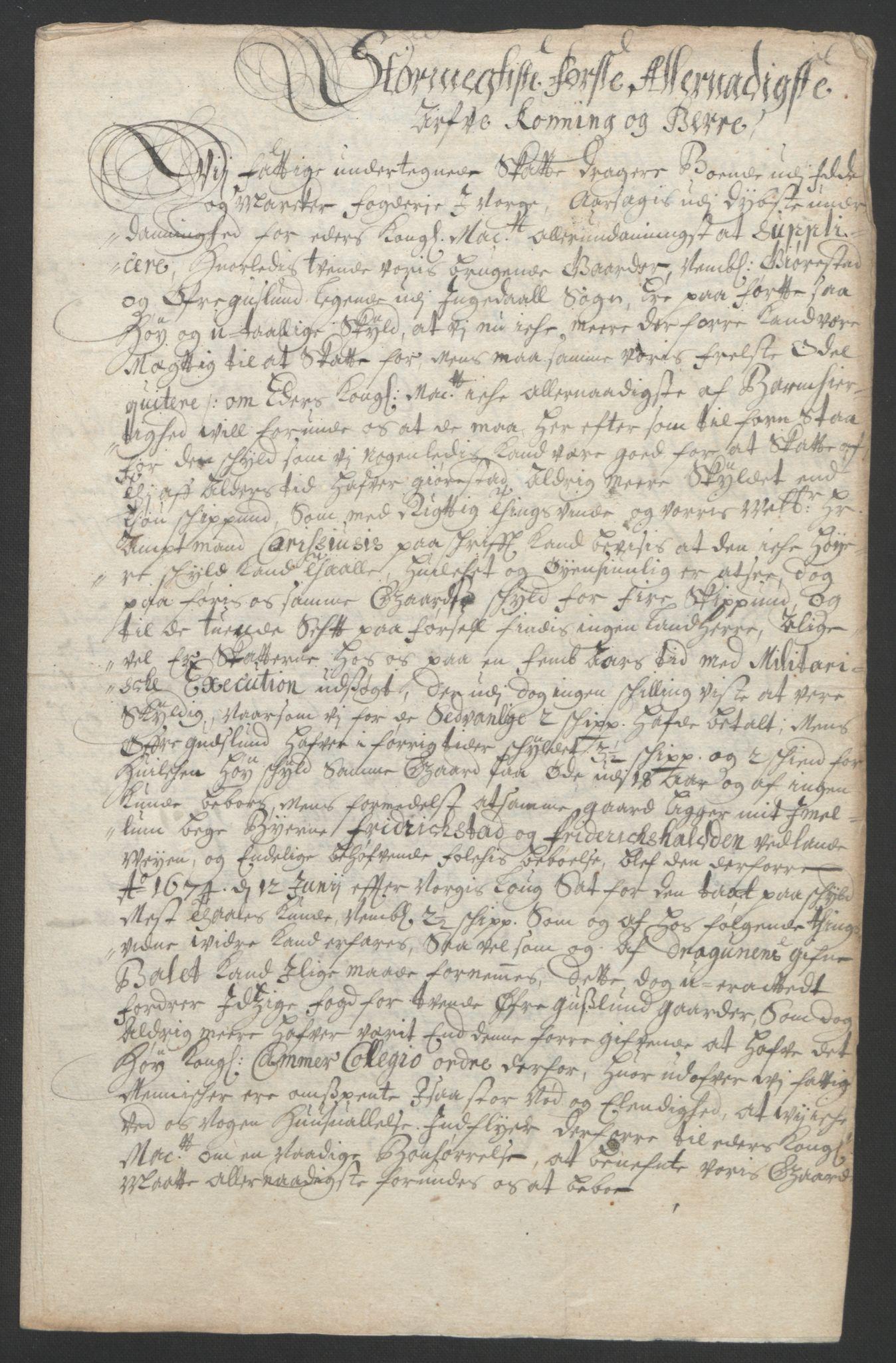 RA, Rentekammeret inntil 1814, Reviderte regnskaper, Fogderegnskap, R01/L0011: Fogderegnskap Idd og Marker, 1692-1693, s. 56