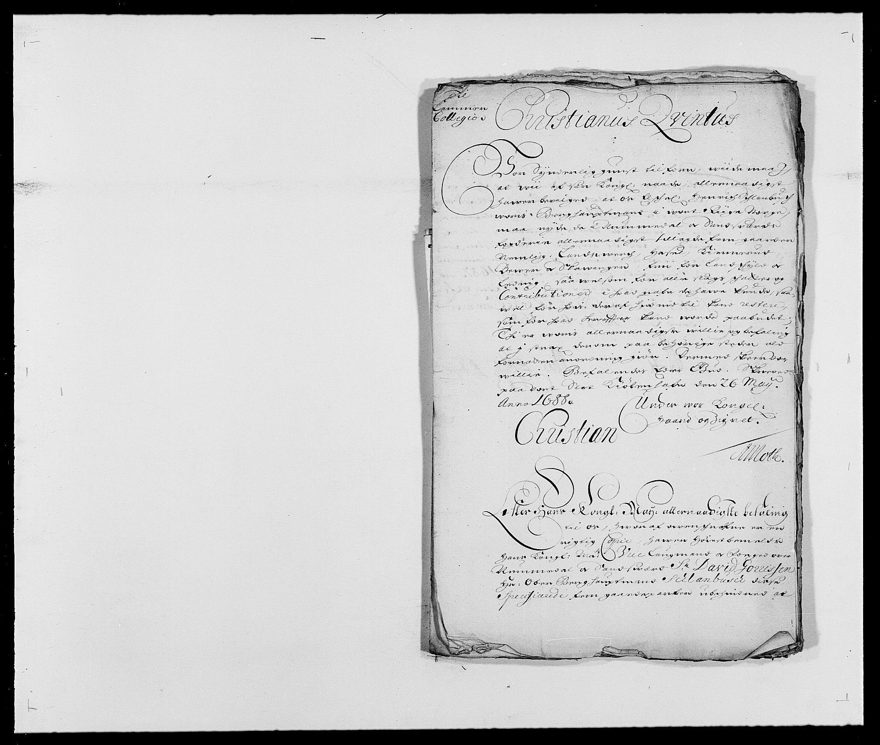 RA, Rentekammeret inntil 1814, Reviderte regnskaper, Fogderegnskap, R24/L1574: Fogderegnskap Numedal og Sandsvær, 1688-1691, s. 2