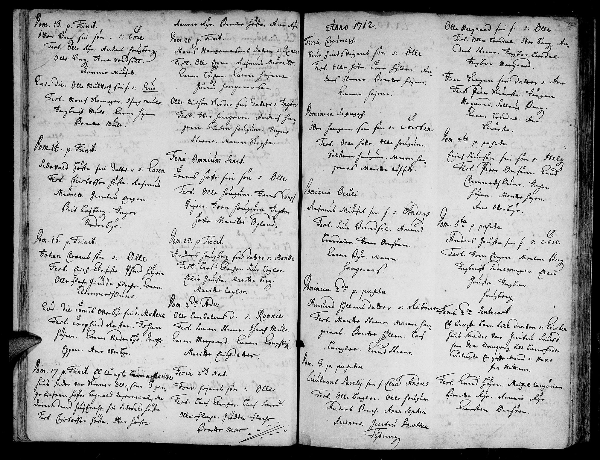 SAT, Ministerialprotokoller, klokkerbøker og fødselsregistre - Sør-Trøndelag, 612/L0368: Ministerialbok nr. 612A02, 1702-1753, s. 9
