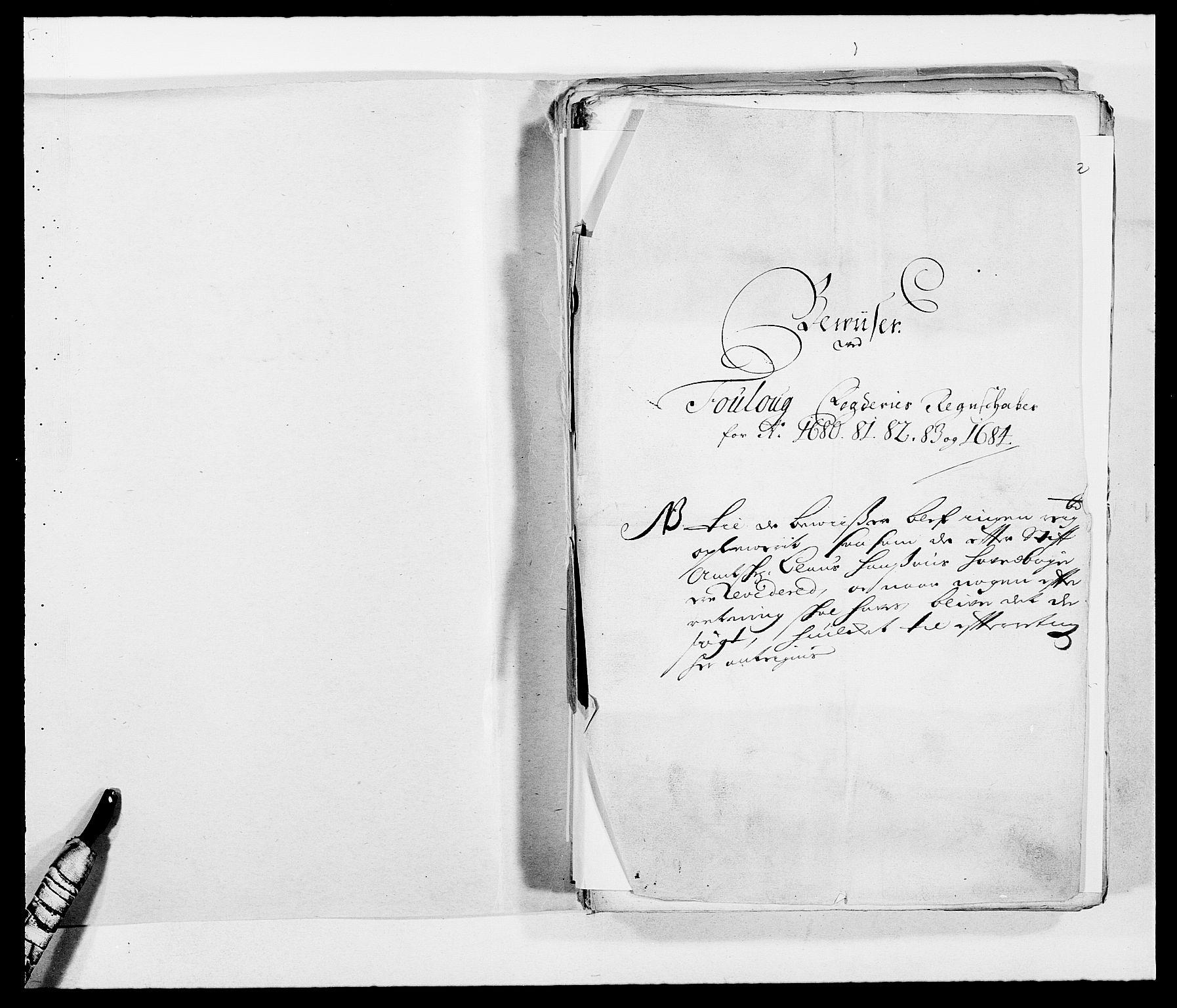 RA, Rentekammeret inntil 1814, Reviderte regnskaper, Fogderegnskap, R09/L0432: Fogderegnskap Follo, 1680-1684, s. 2