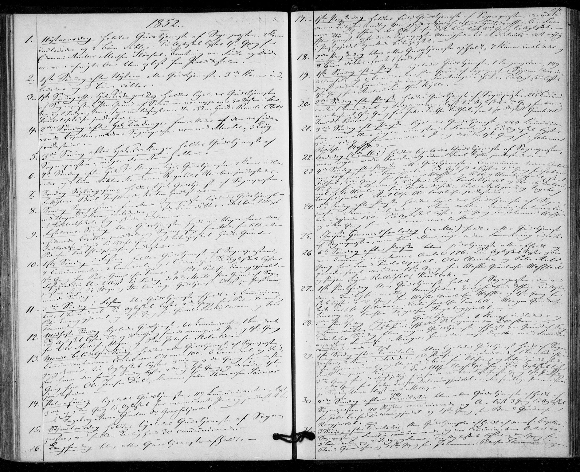 SAT, Ministerialprotokoller, klokkerbøker og fødselsregistre - Nord-Trøndelag, 703/L0028: Ministerialbok nr. 703A01, 1850-1862, s. 212