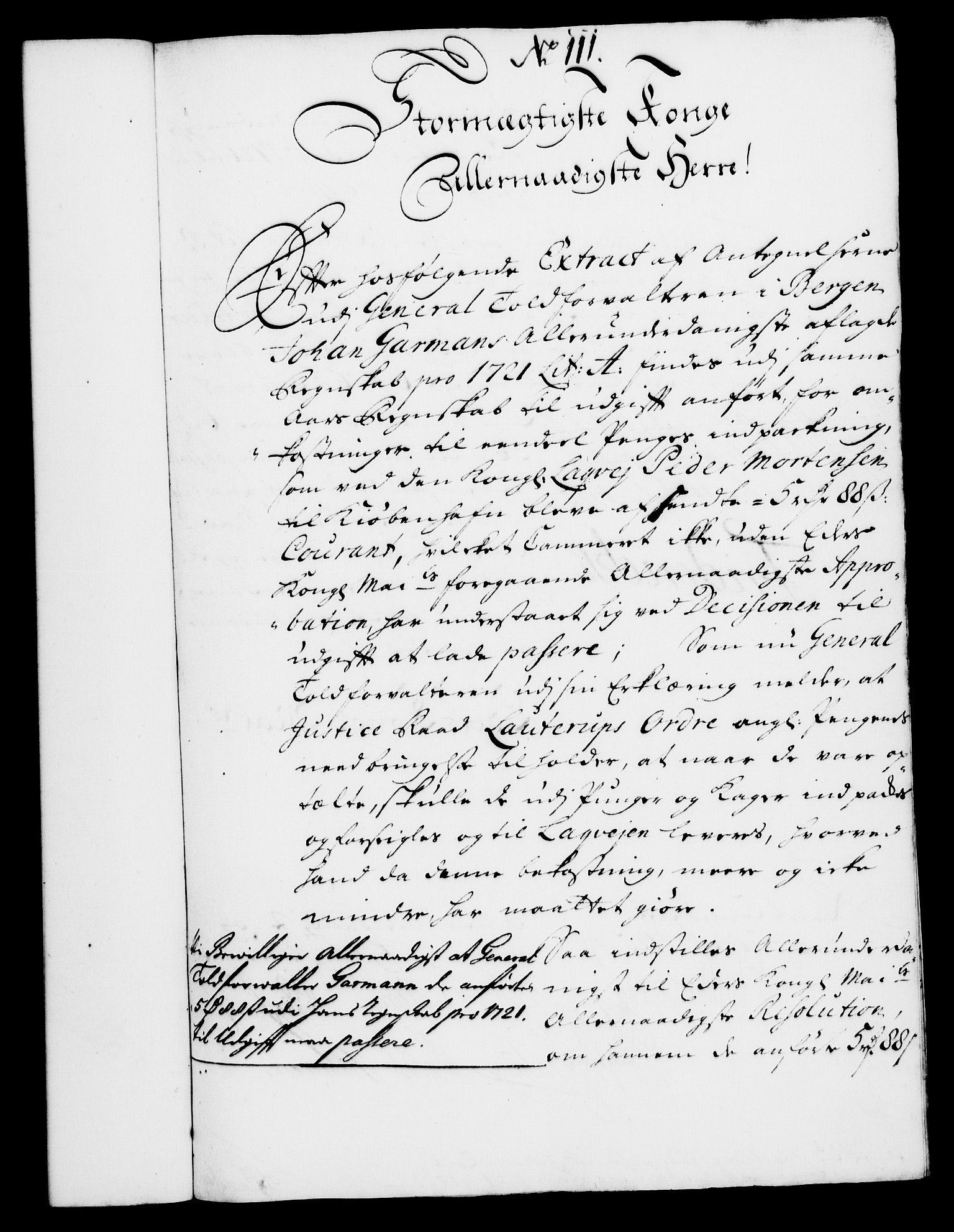 RA, Rentekammeret, Kammerkanselliet, G/Gf/Gfa/L0008: Norsk relasjons- og resolusjonsprotokoll (merket RK 52.8), 1725, s. 612