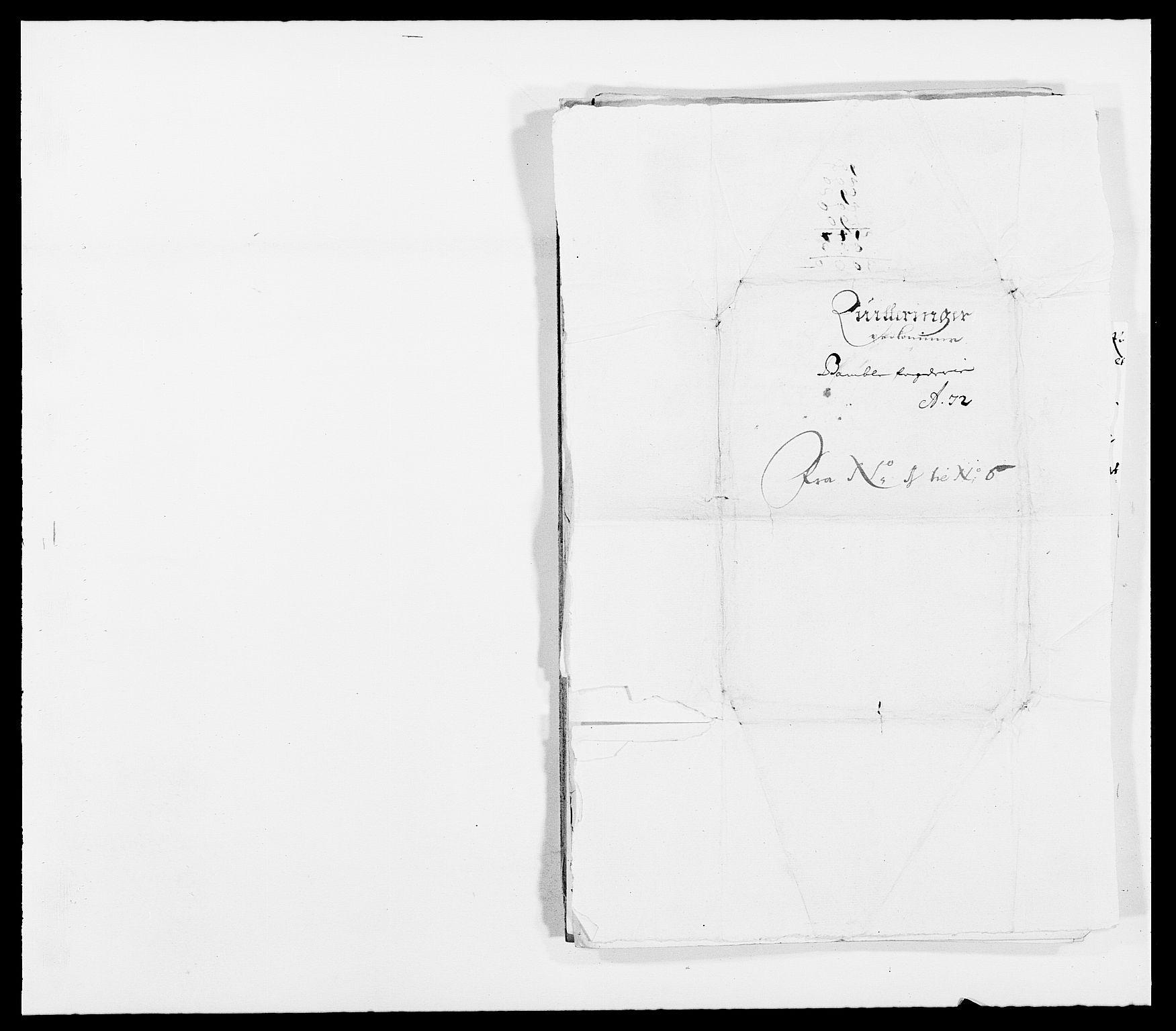 RA, Rentekammeret inntil 1814, Reviderte regnskaper, Fogderegnskap, R34/L2041: Fogderegnskap Bamble, 1670-1672, s. 404