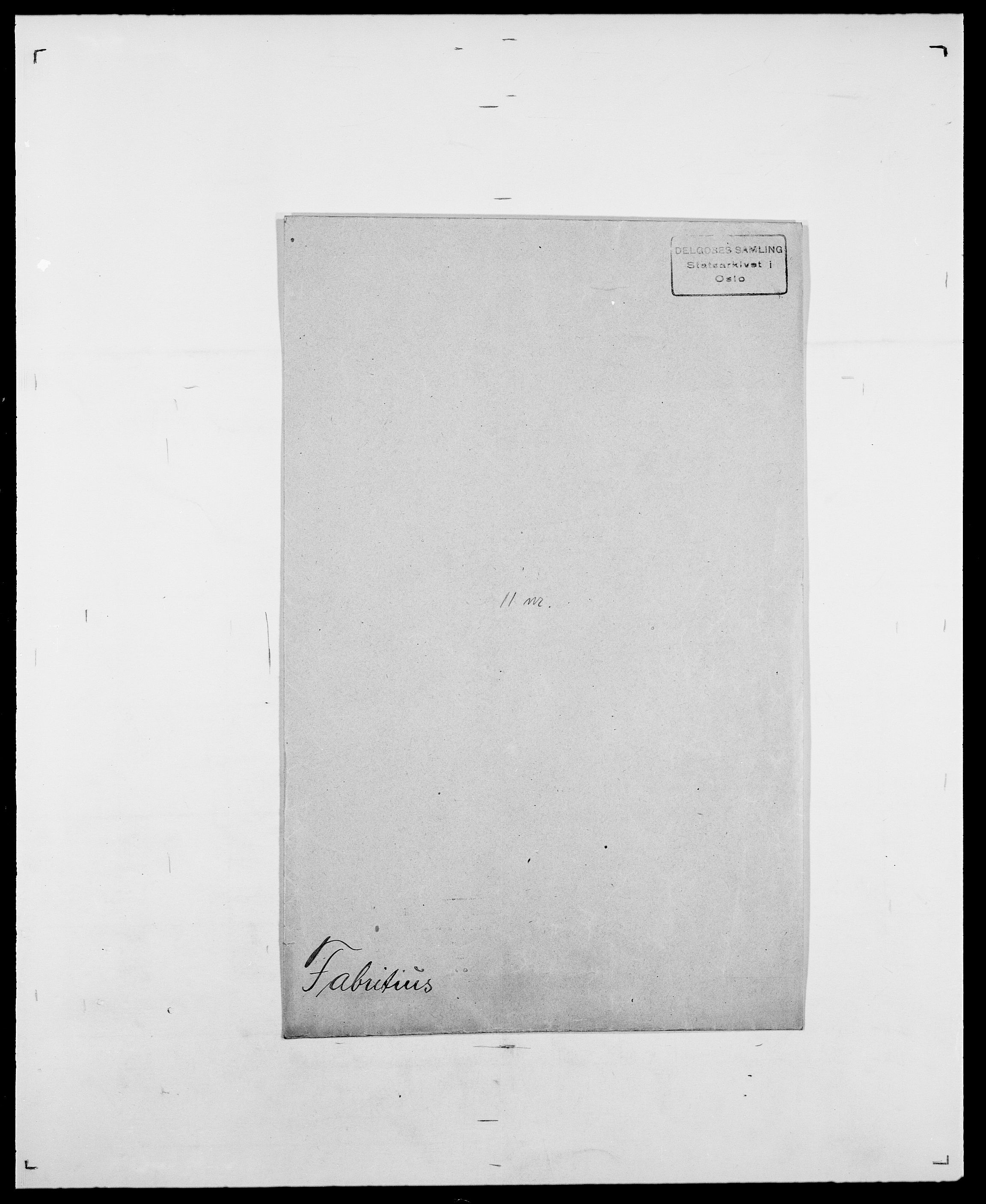 SAO, Delgobe, Charles Antoine - samling, D/Da/L0010: Dürendahl - Fagelund, s. 722