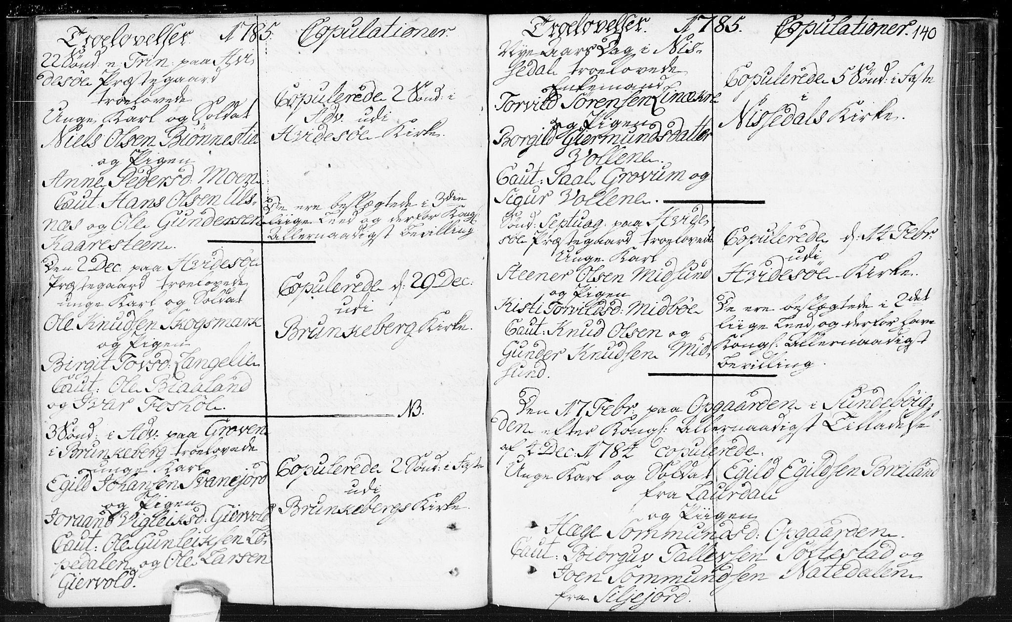 SAKO, Kviteseid kirkebøker, F/Fa/L0002: Ministerialbok nr. I 2, 1773-1786, s. 140