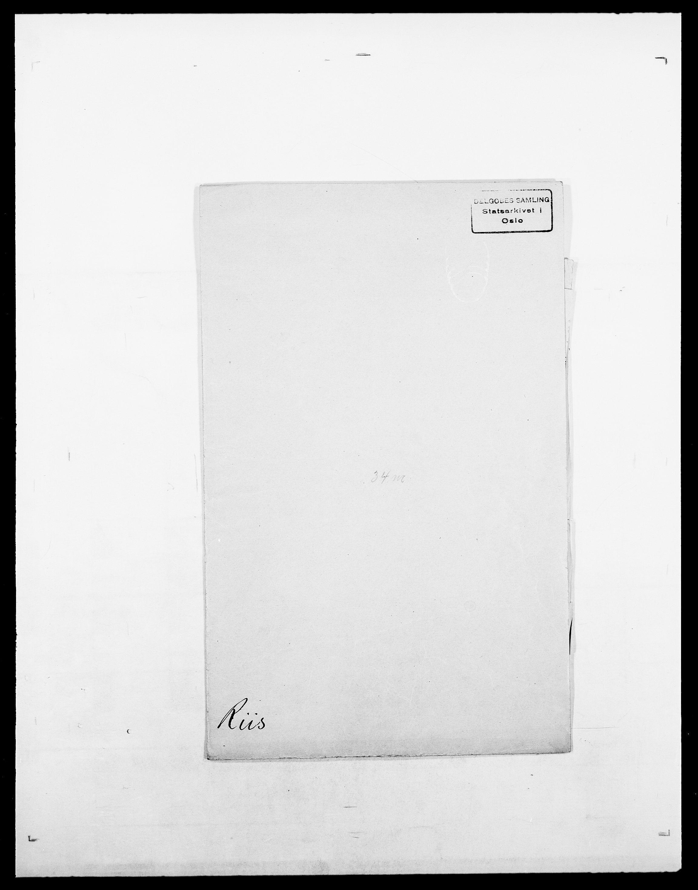 SAO, Delgobe, Charles Antoine - samling, D/Da/L0032: Rabakovsky - Rivertz, s. 604