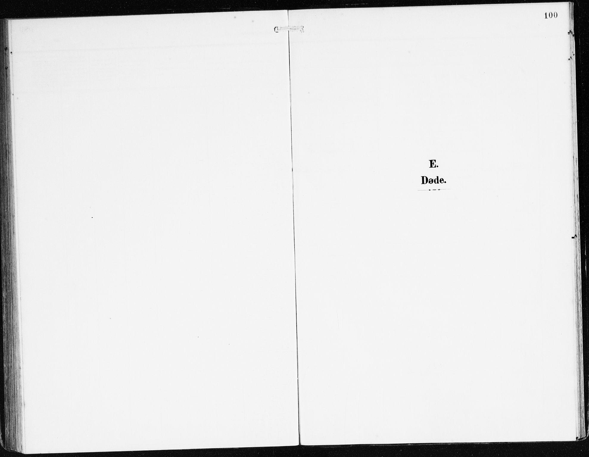 SAB, Bremanger Sokneprestembete, H/Haa: Ministerialbok nr. C 1, 1908-1921, s. 100