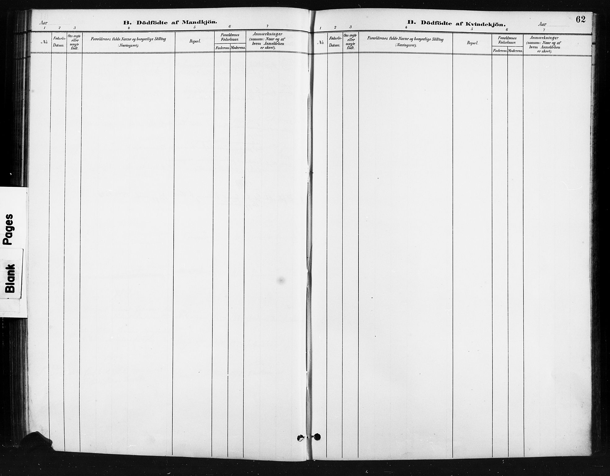 SAH, Skjåk prestekontor, Klokkerbok nr. 4, 1895-1921, s. 62