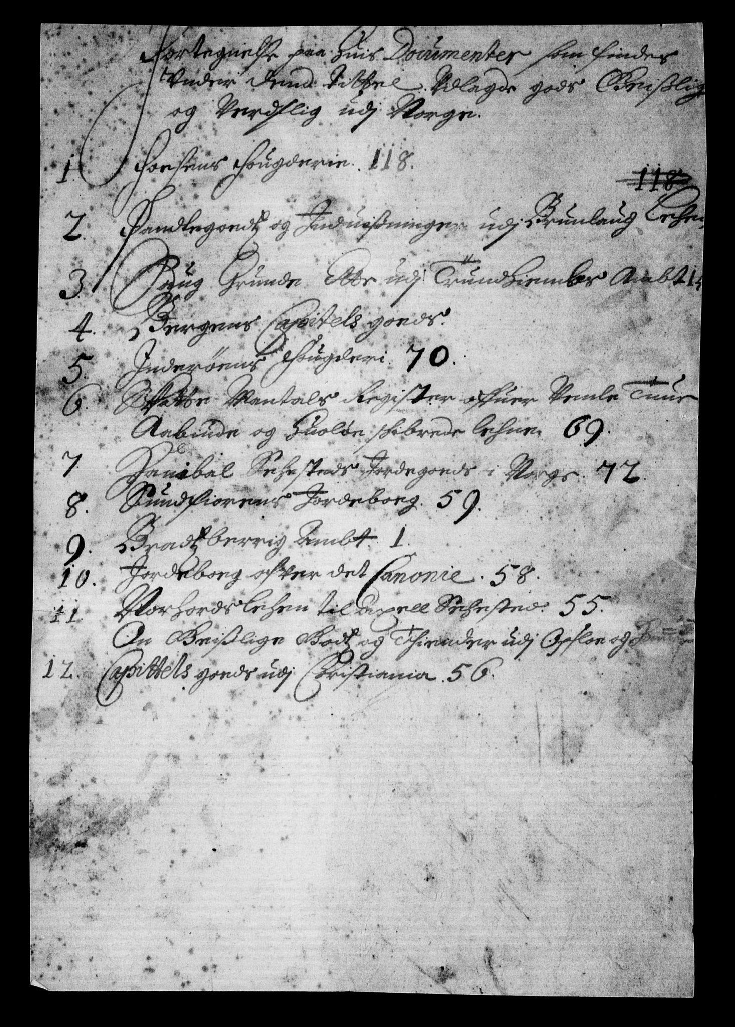 RA, Rentekammeret inntil 1814, Realistisk ordnet avdeling, On/L0010: [Jj 11]: Salg av krongods i Norge, 1661-1704, s. 484