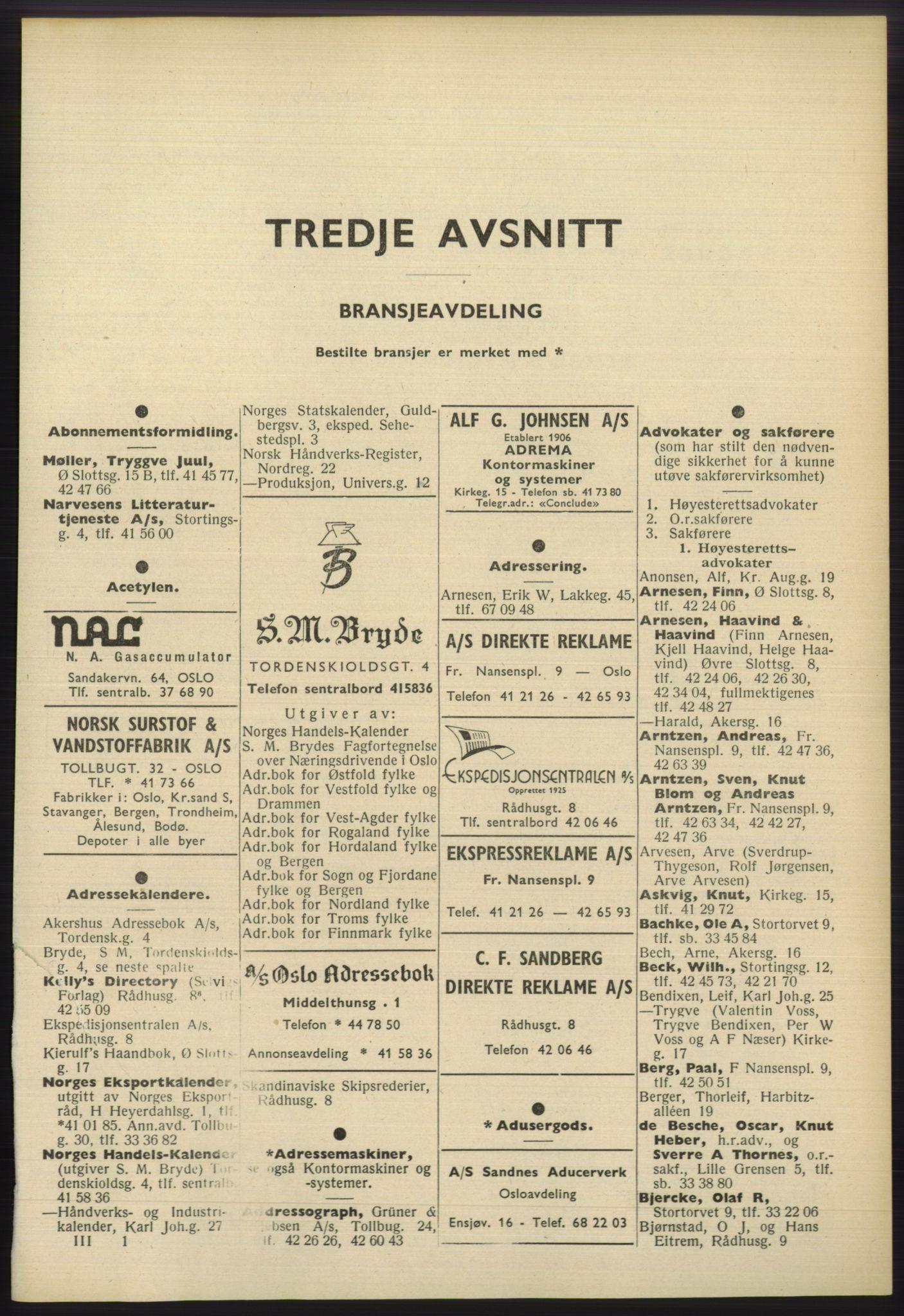 PUBL, Kristiania/Oslo adressebok, 1960-1961, s. 1801