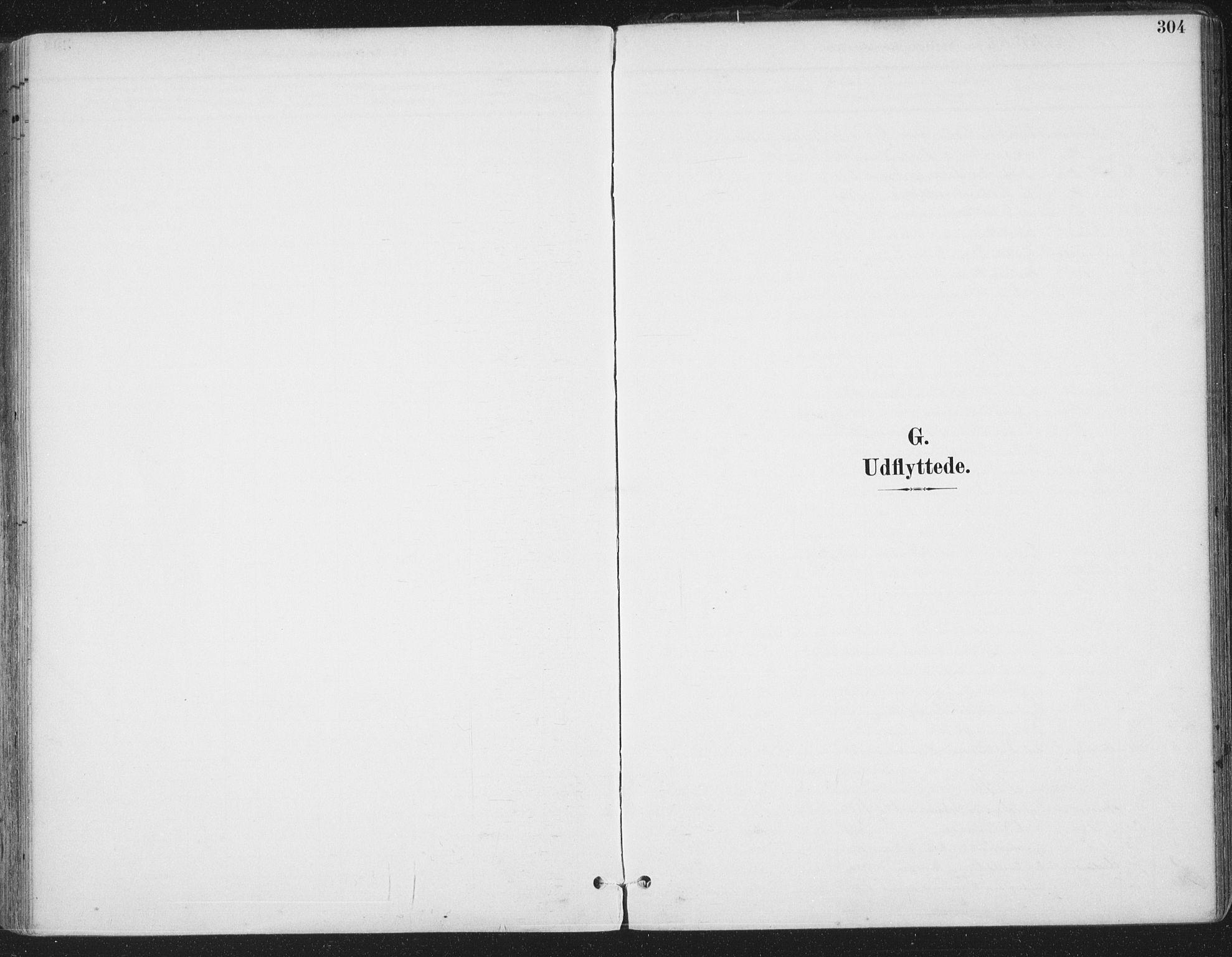 SAT, Ministerialprotokoller, klokkerbøker og fødselsregistre - Sør-Trøndelag, 659/L0743: Ministerialbok nr. 659A13, 1893-1910, s. 304
