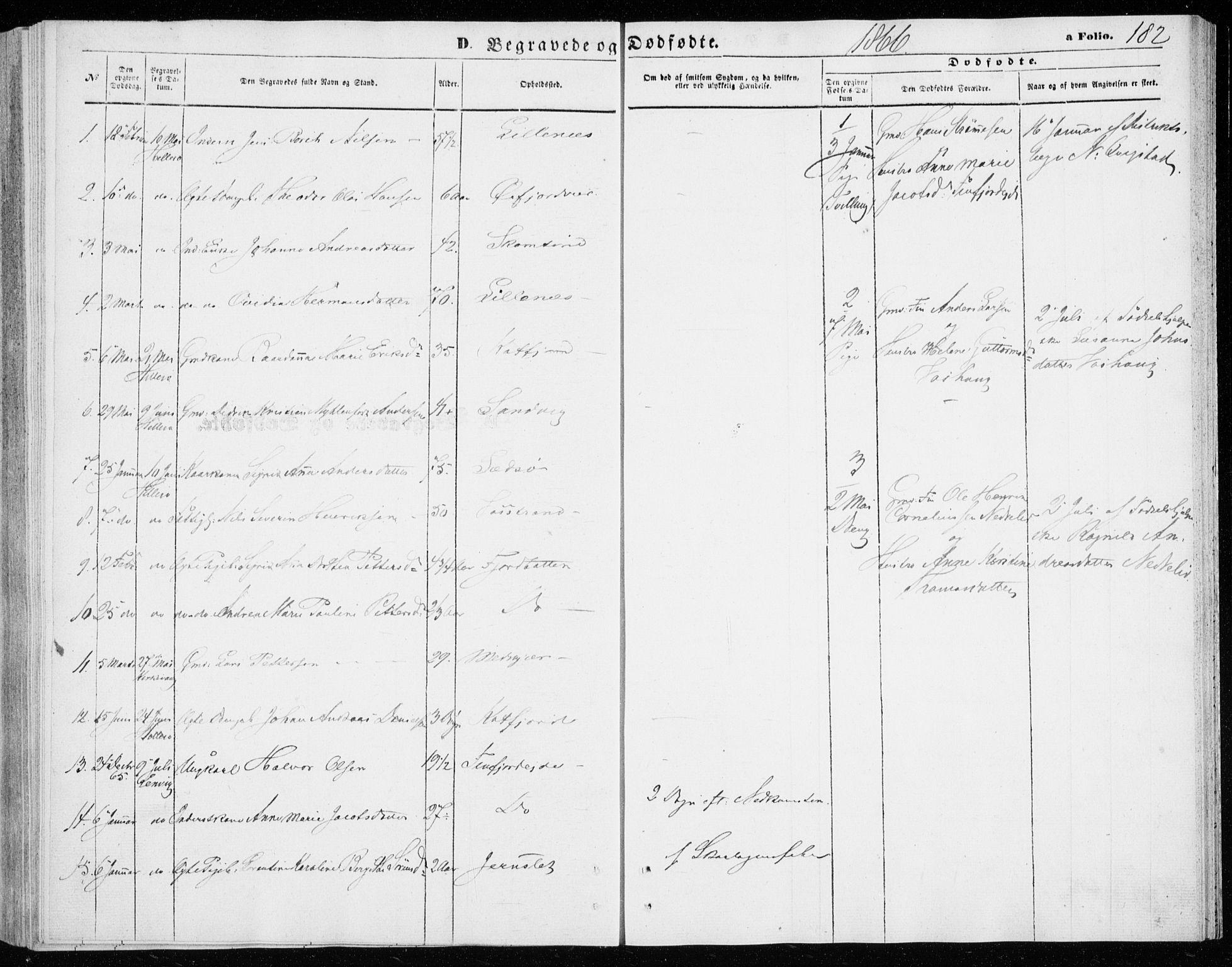 SATØ, Lenvik sokneprestembete, H/Ha: Ministerialbok nr. 9, 1866-1873, s. 182