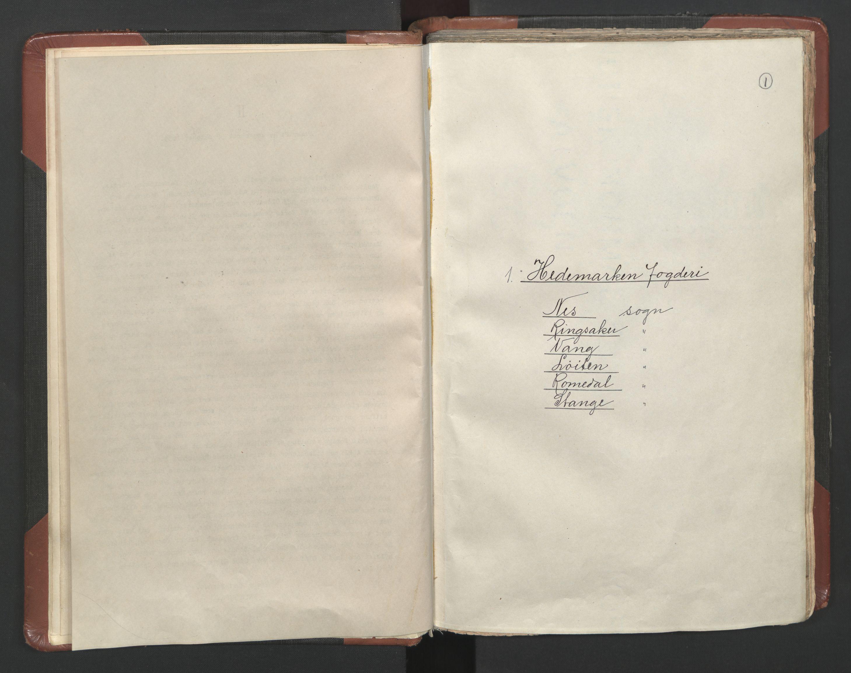 RA, Fogdenes og sorenskrivernes manntall 1664-1666, nr. 3: Hedmark fogderi og Solør, Østerdal og Odal fogderi, 1664, s. 1