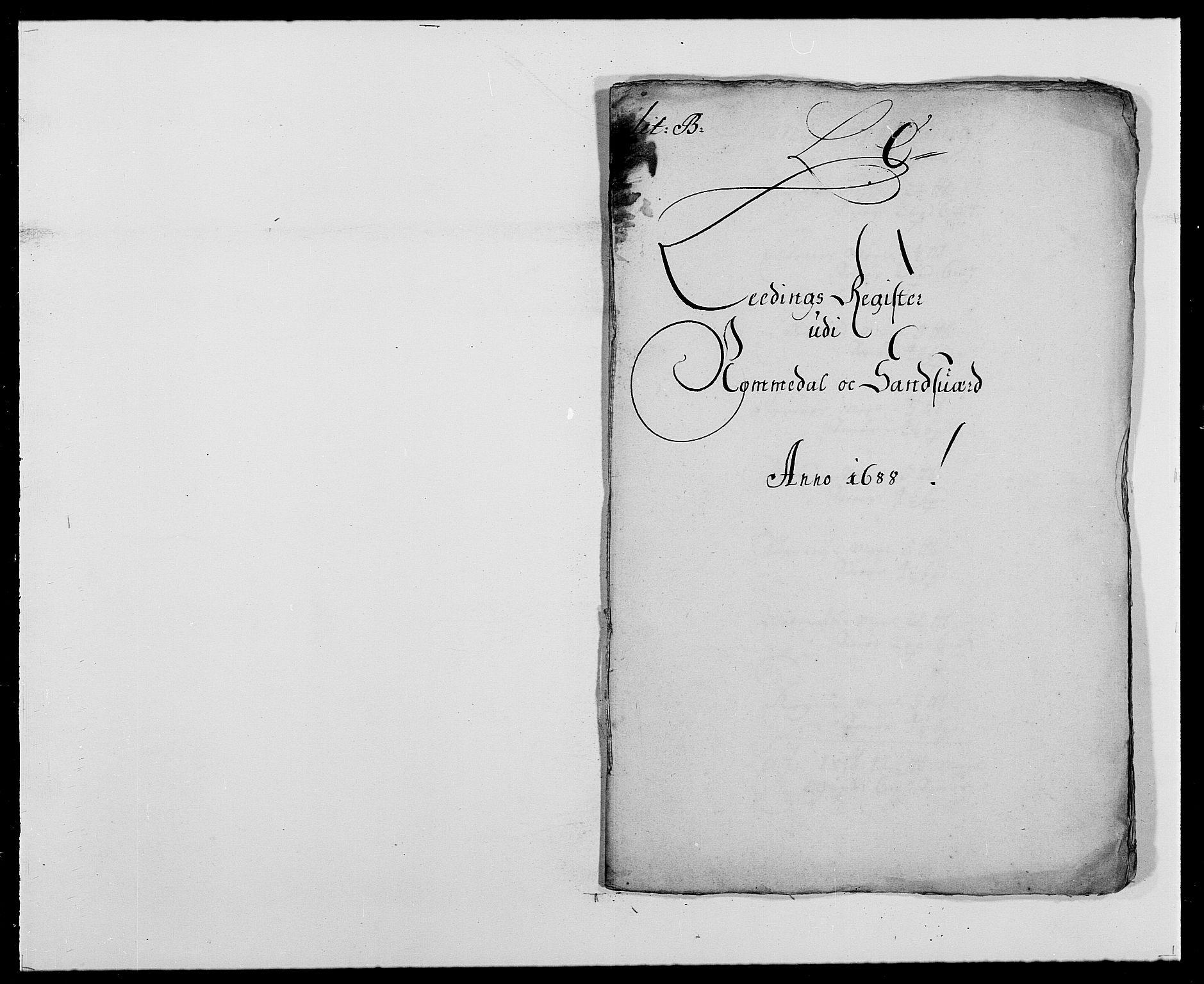 RA, Rentekammeret inntil 1814, Reviderte regnskaper, Fogderegnskap, R24/L1573: Fogderegnskap Numedal og Sandsvær, 1687-1691, s. 270