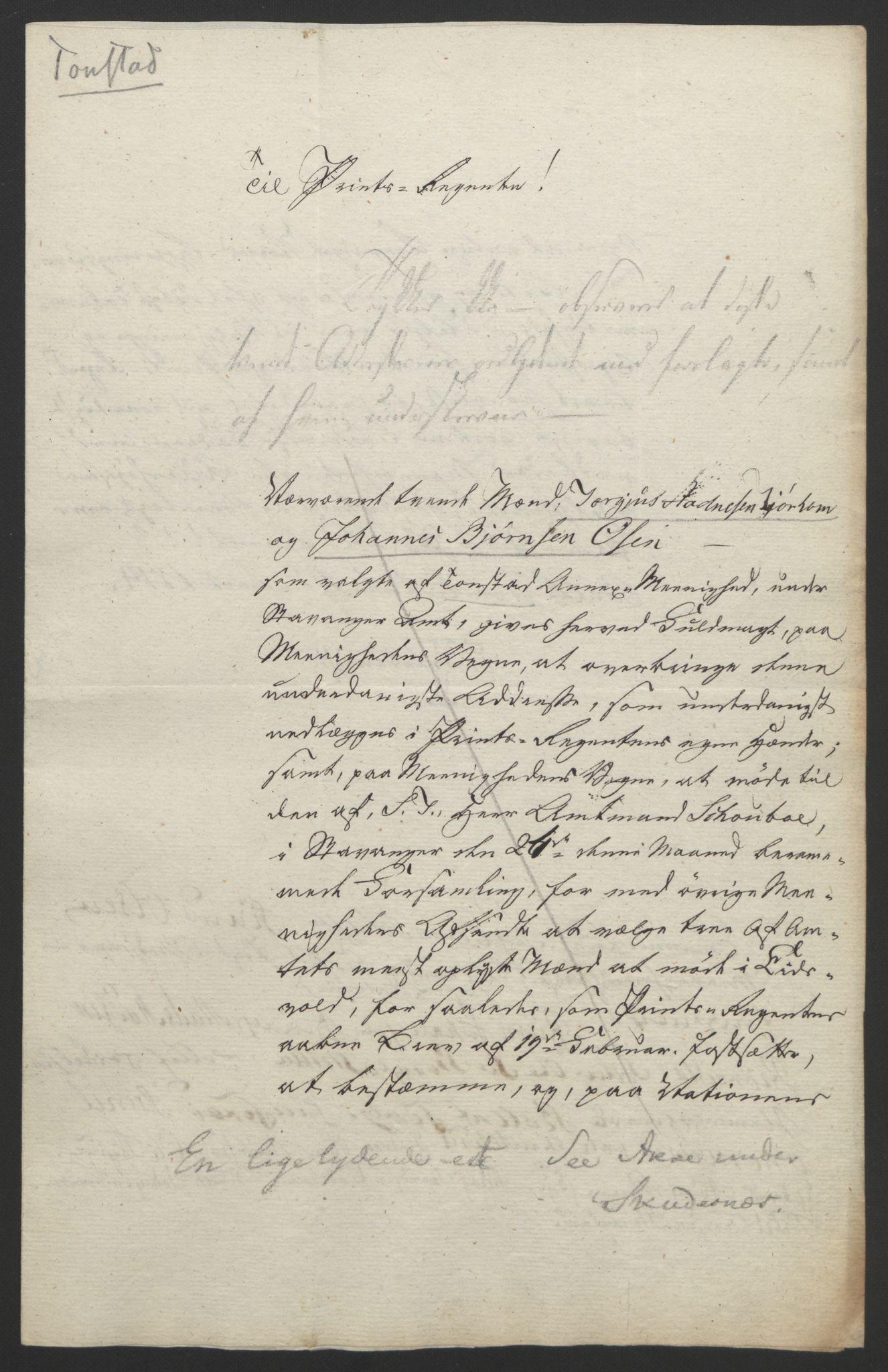 RA, Statsrådssekretariatet, D/Db/L0008: Fullmakter for Eidsvollsrepresentantene i 1814. , 1814, s. 208