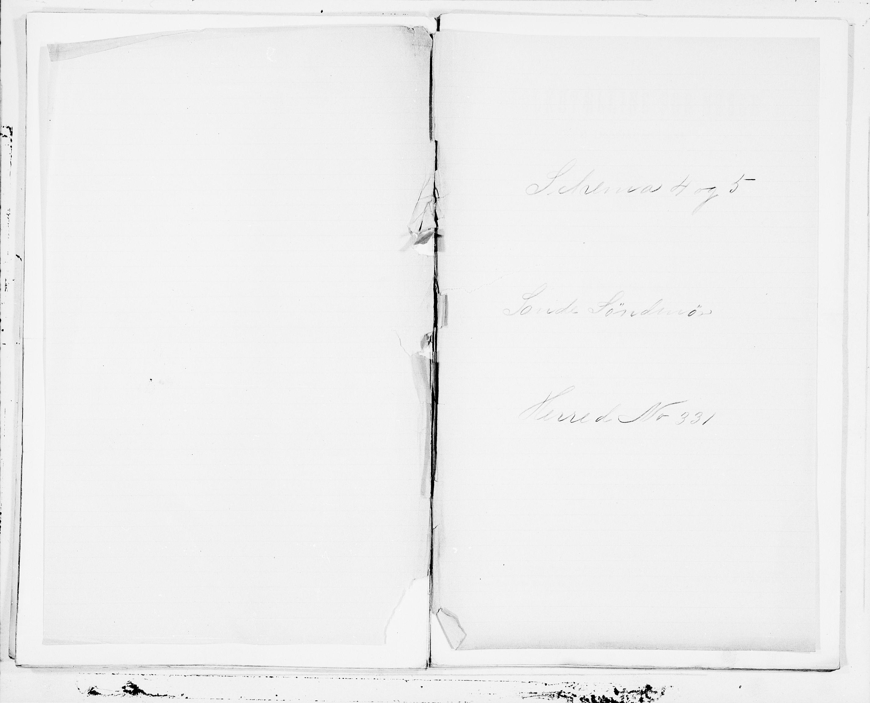 SAT, Folketelling 1900 for 1514 Sande herred, 1900, s. 1
