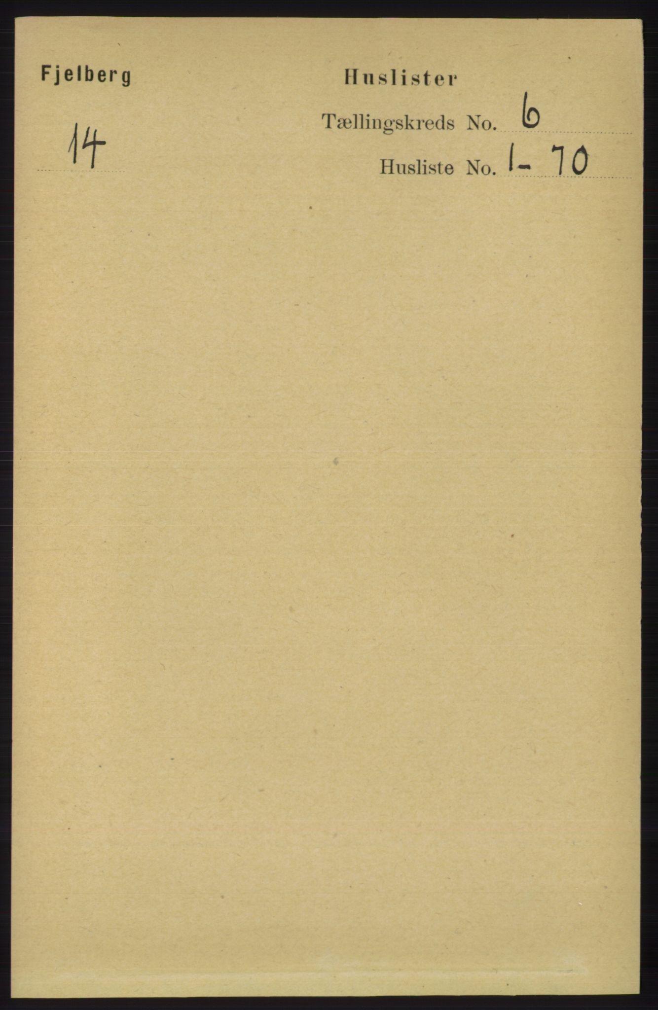 RA, Folketelling 1891 for 1213 Fjelberg herred, 1891, s. 1879