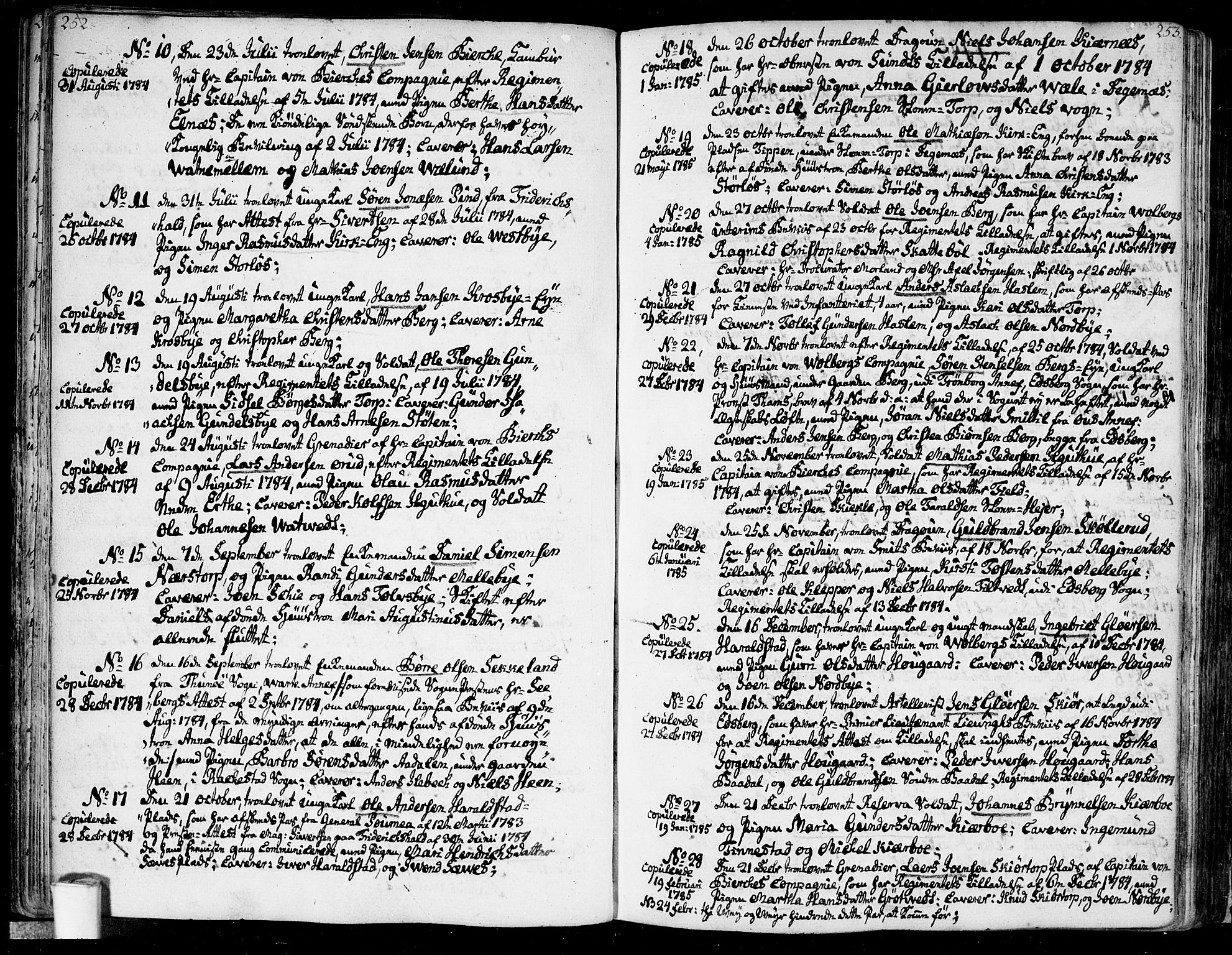 SAO, Rakkestad prestekontor Kirkebøker, F/Fa/L0005: Ministerialbok nr. I 5, 1784-1814, s. 252-253