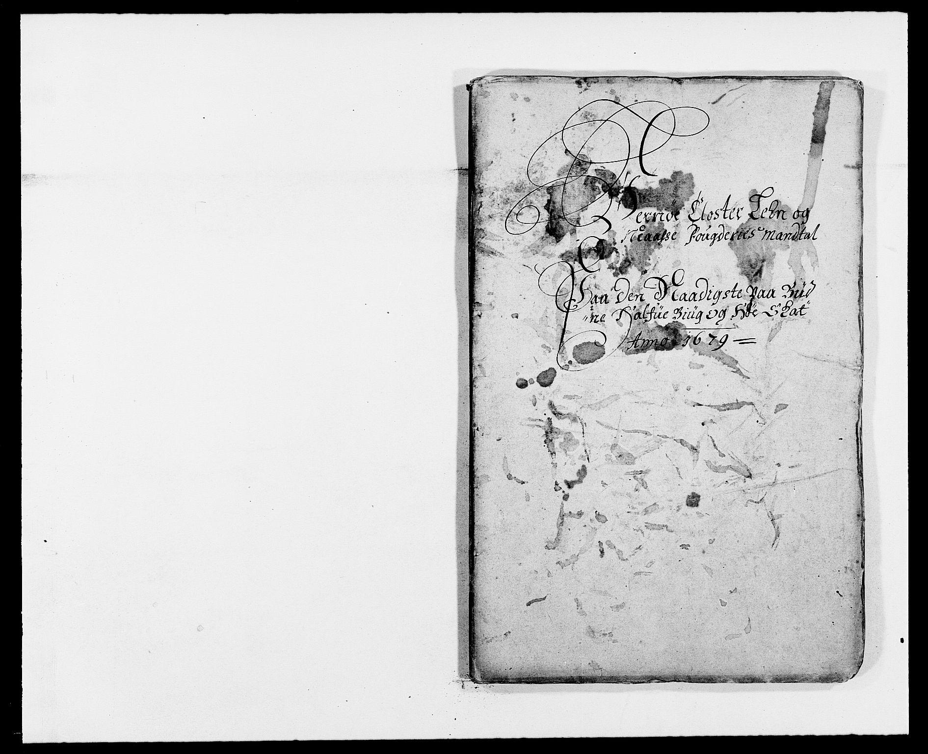 RA, Rentekammeret inntil 1814, Reviderte regnskaper, Fogderegnskap, R02/L0100: Fogderegnskap Moss og Verne kloster, 1679, s. 143