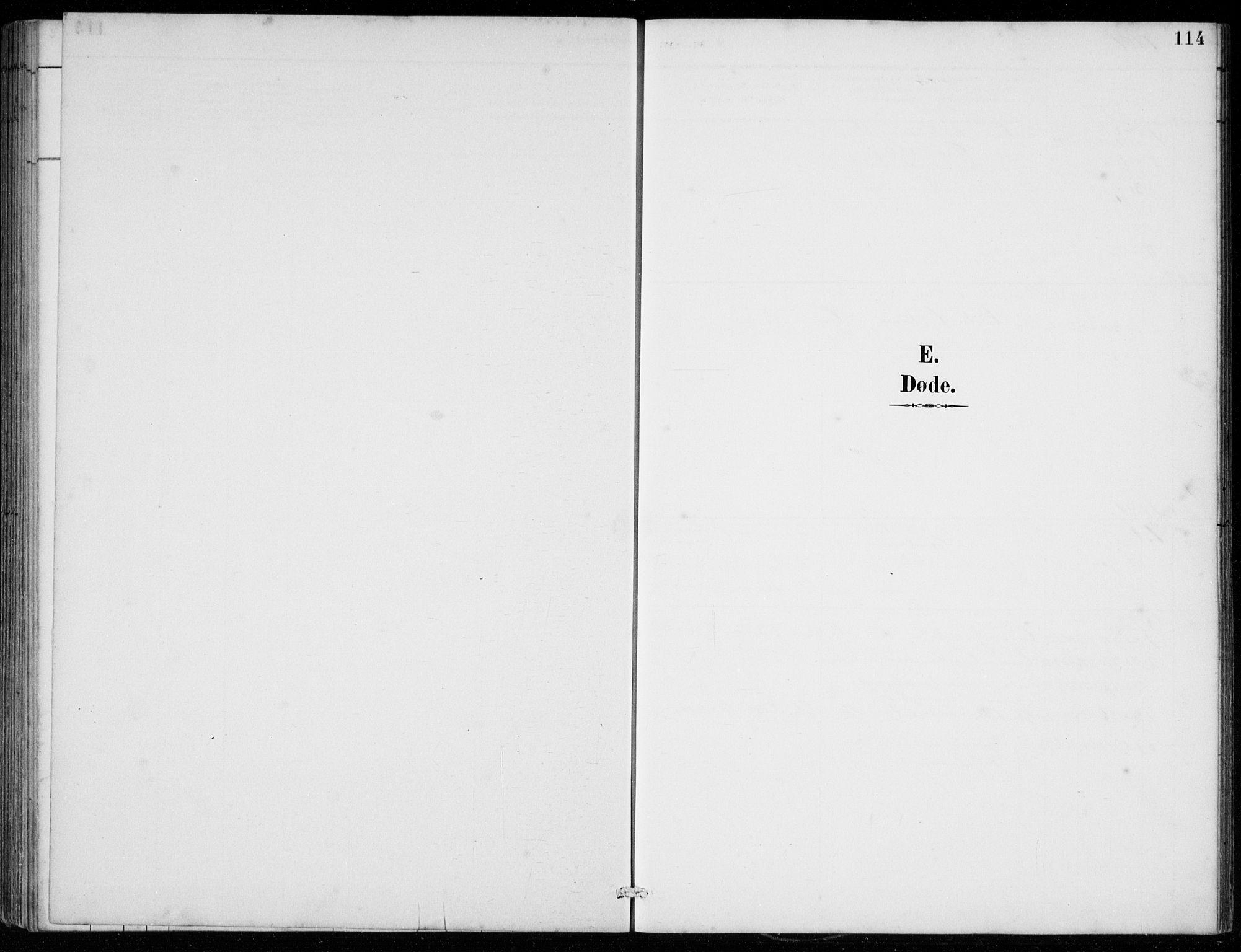 SAB, Strandebarm Sokneprestembete, H/Hab: Klokkerbok nr. C  1, 1891-1913, s. 114